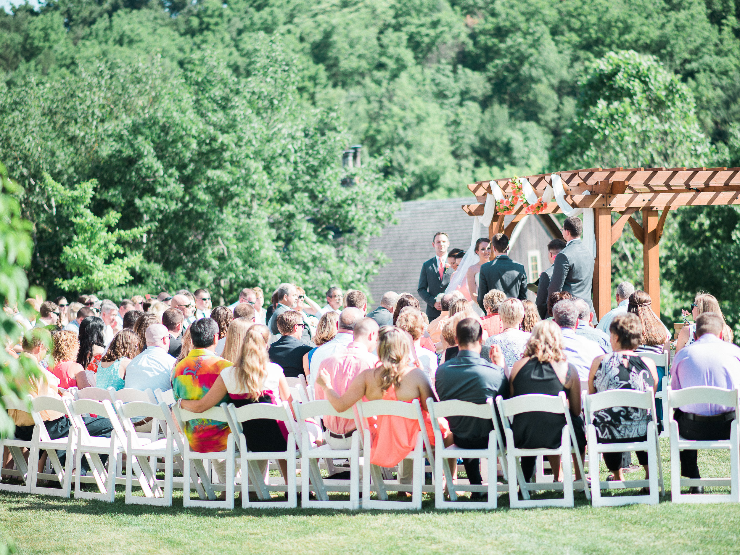 wedding at glasbern inn