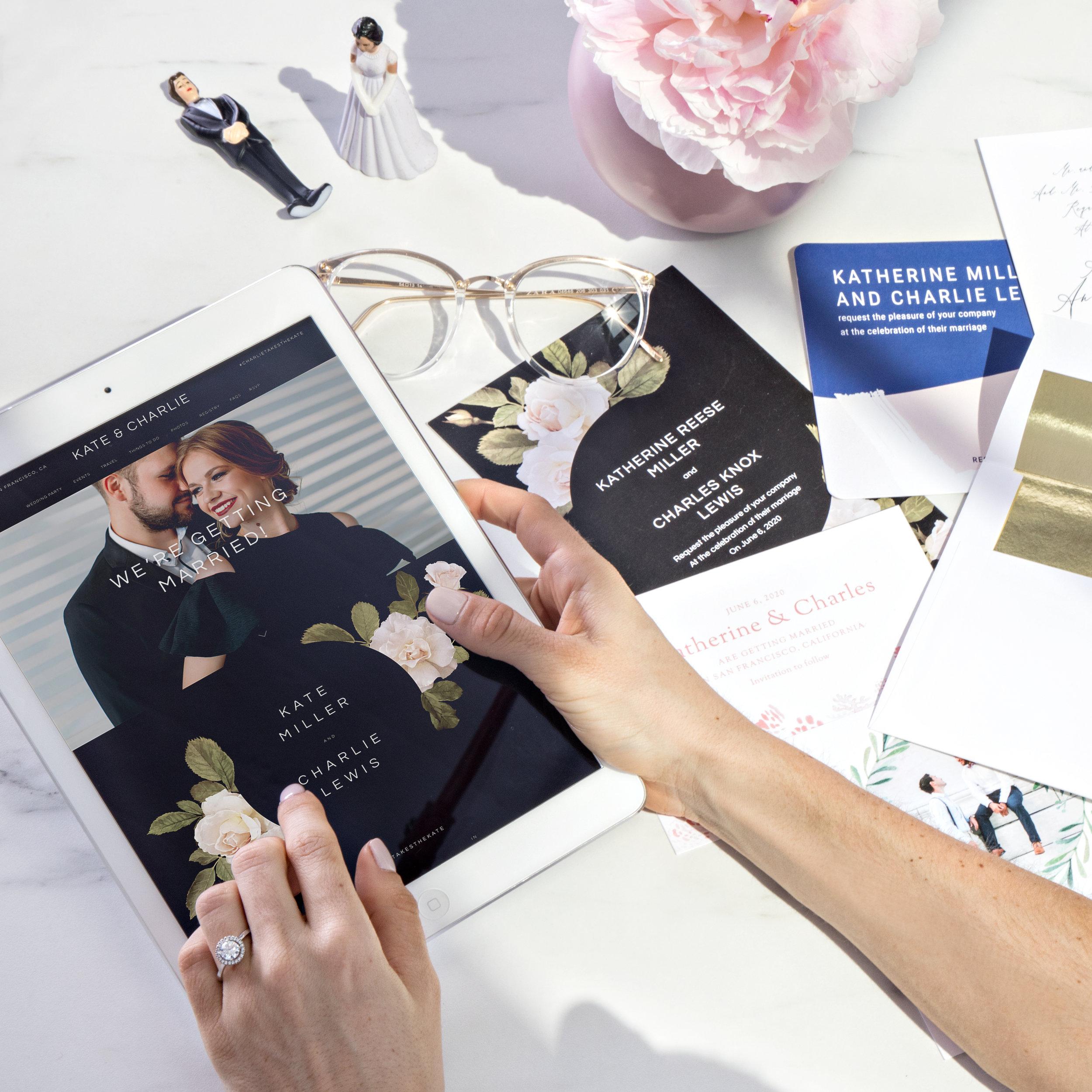 Zola Wedding Websites