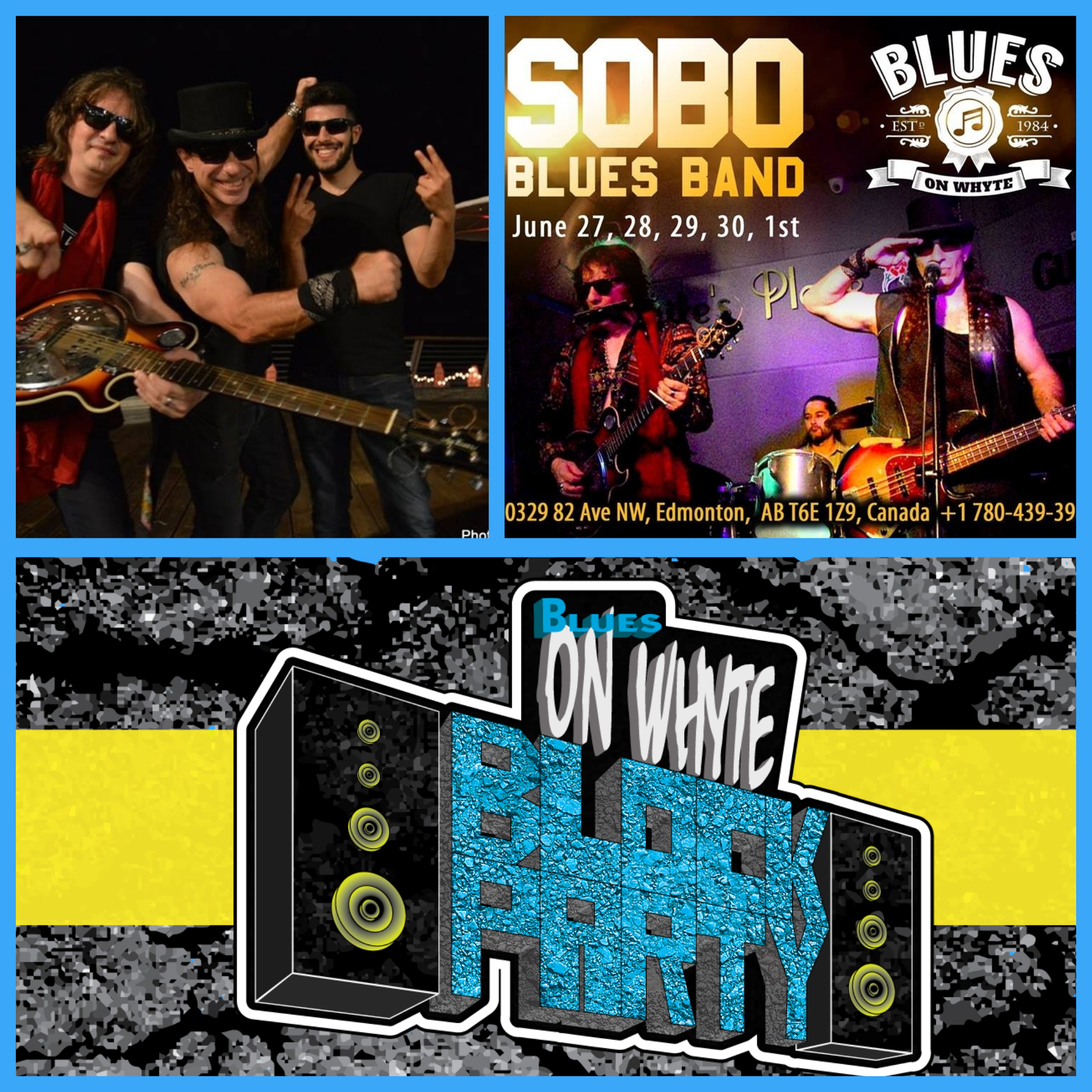 SOBO is an International rock-n-blues band integrating American, Russian and Middle Eastern influences. Based in the Holy City of Jerusalem. SOBO is legendary in Israel for its powerful and energetic mix of blues, rock, R&B and funk coupled with a unique sound of slide guitar. SOBO does their own original songs which have a bluesy flavor, and is constantly working to produce more.