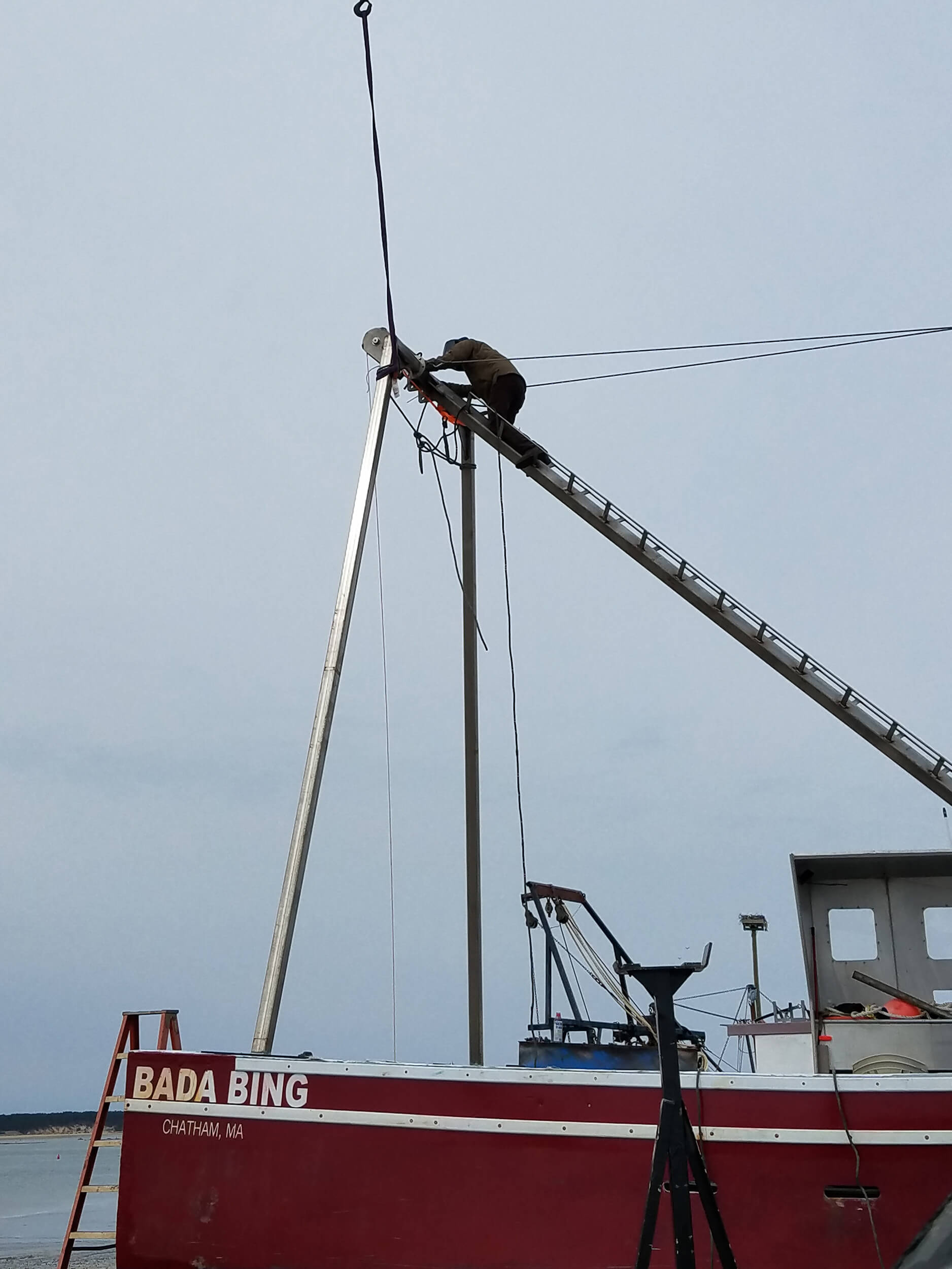Installing the Rigging