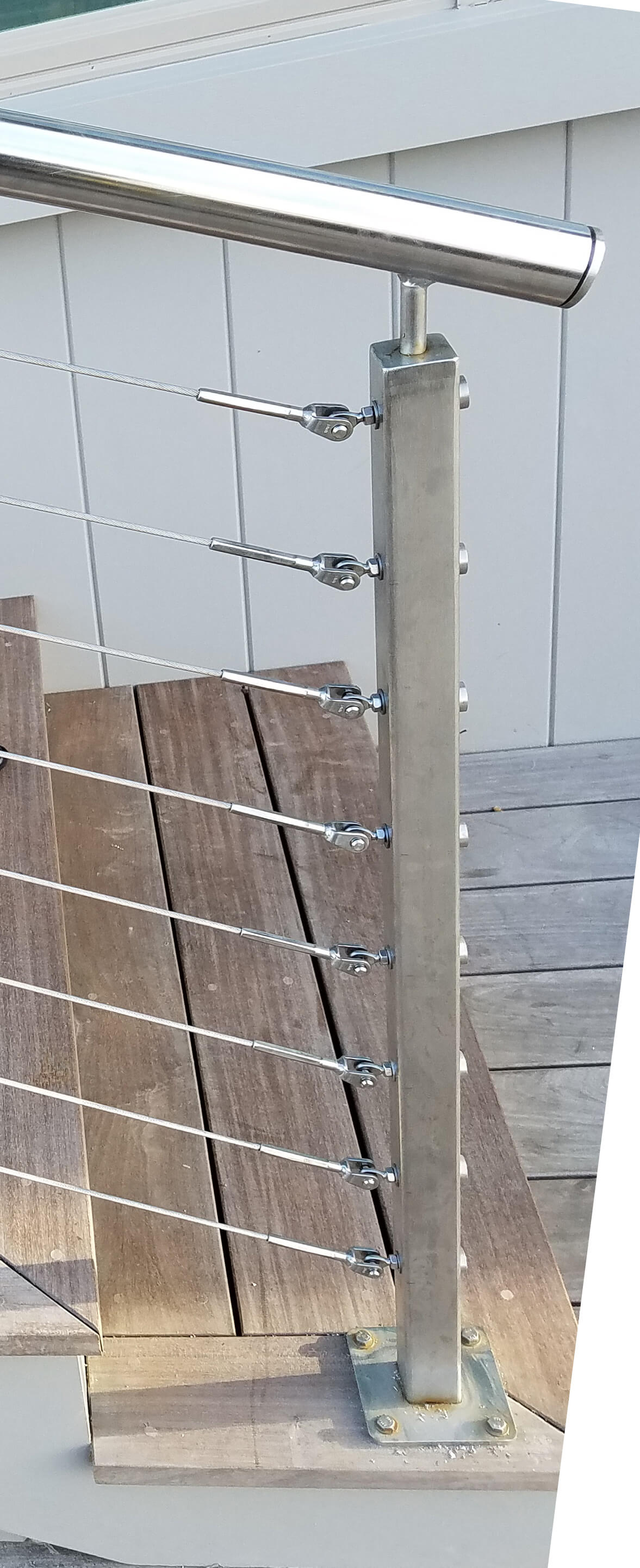 Stainless Steel Cable Rail Detail