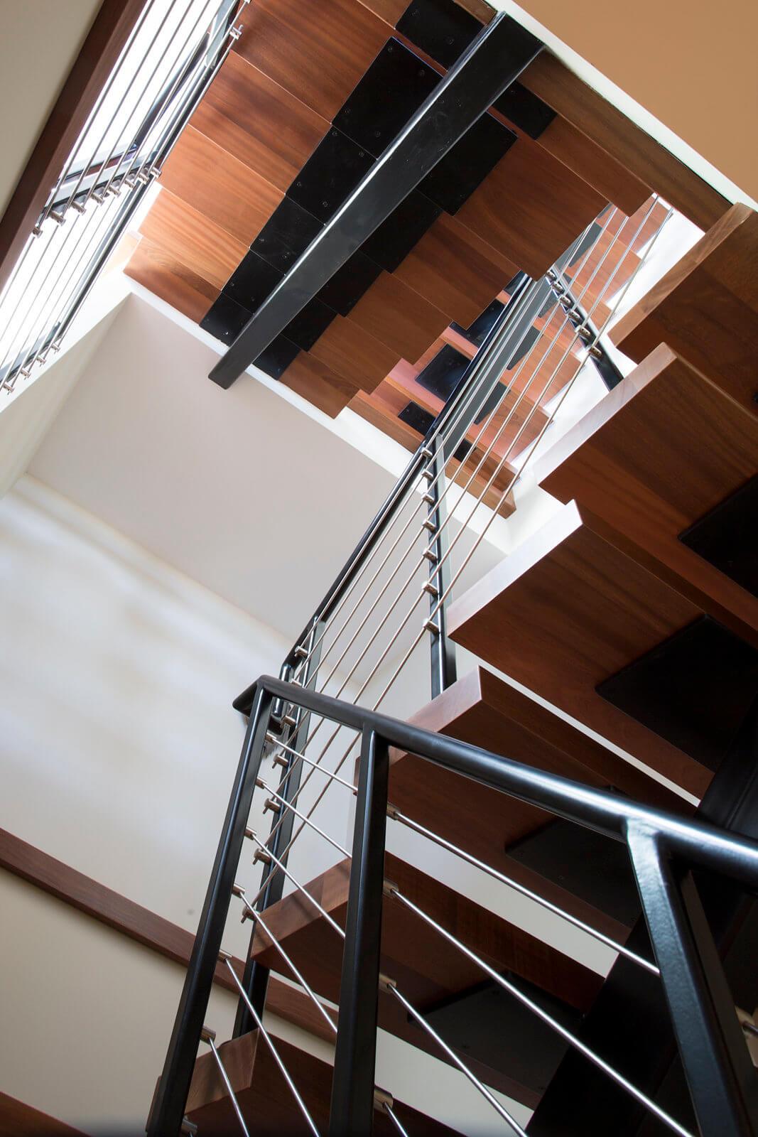 Steel Single Stringer Stair