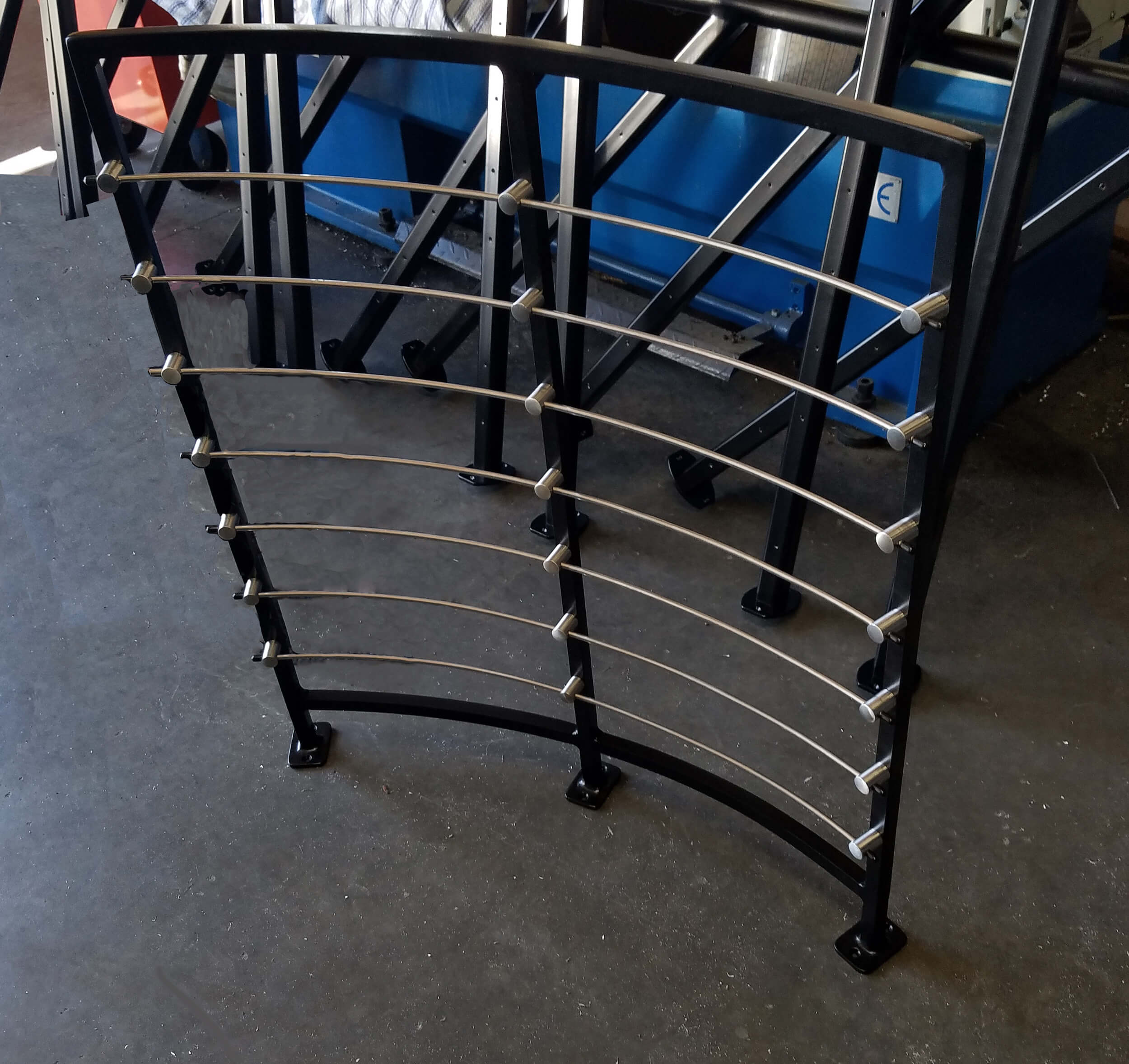 Railing with Stainless Steel Cable Rail System
