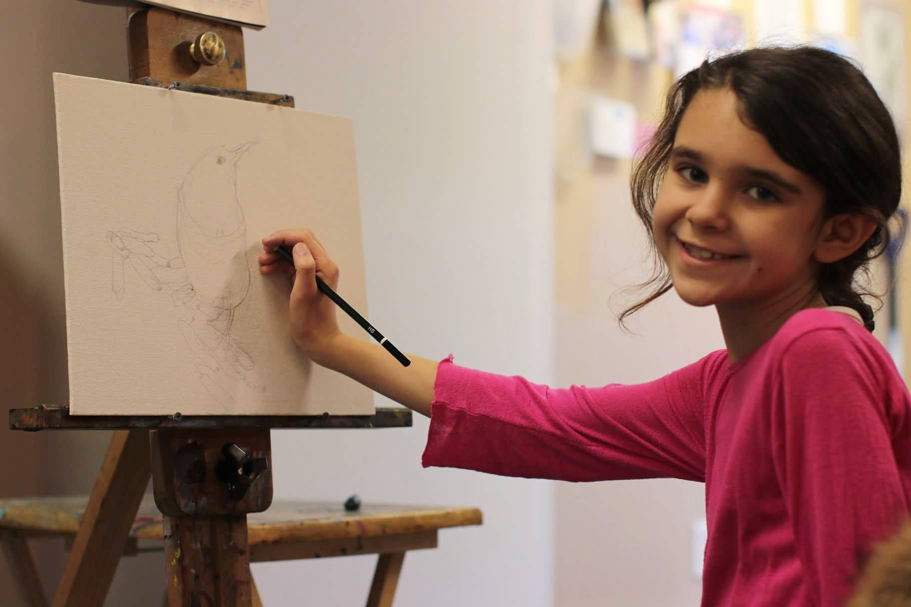 Our  Art Lessons for Children  program teaches kids 6-8, 9-12 years old.