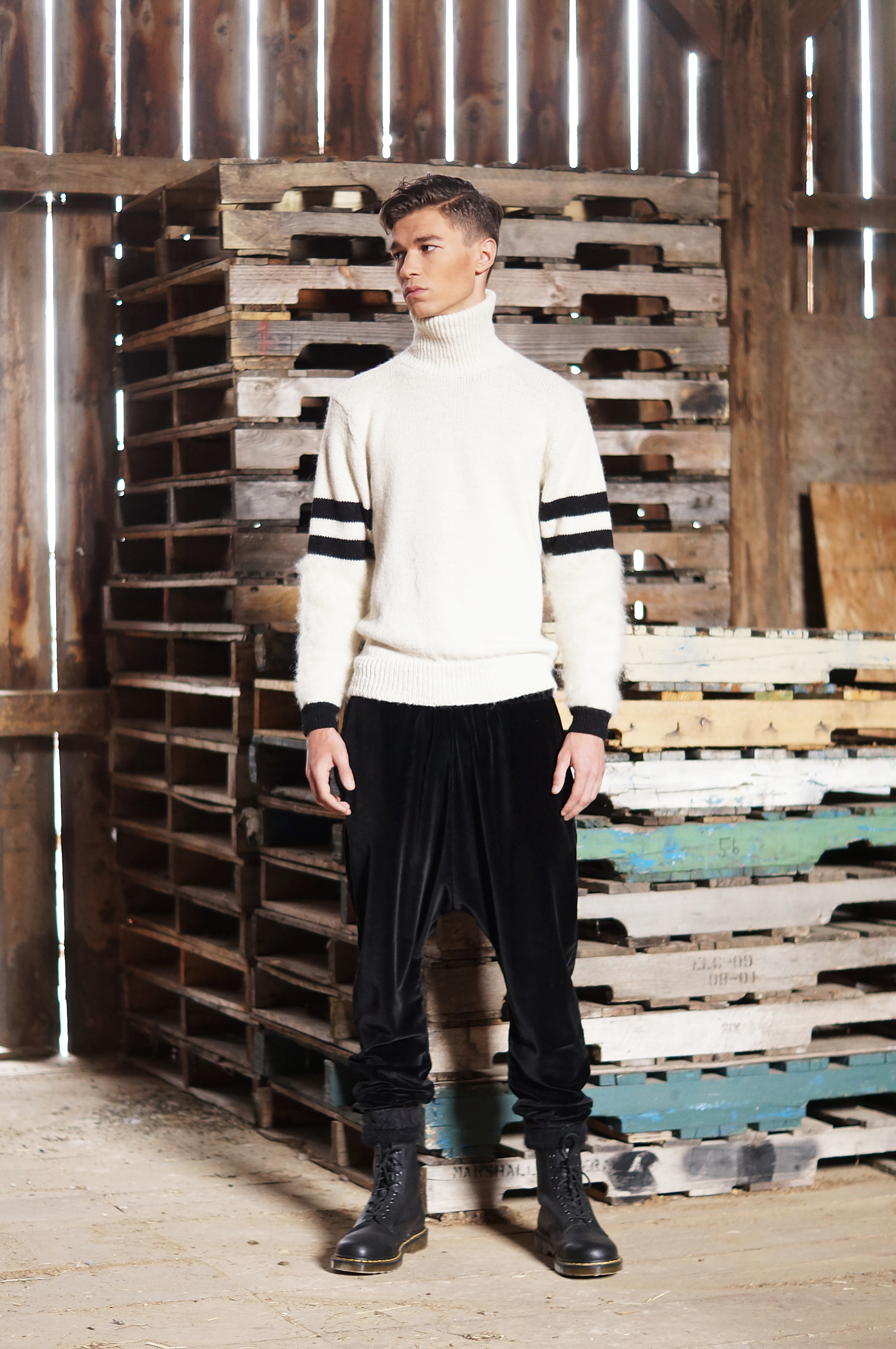 Look 7 Clydesdale Varsity Sweater.JPG