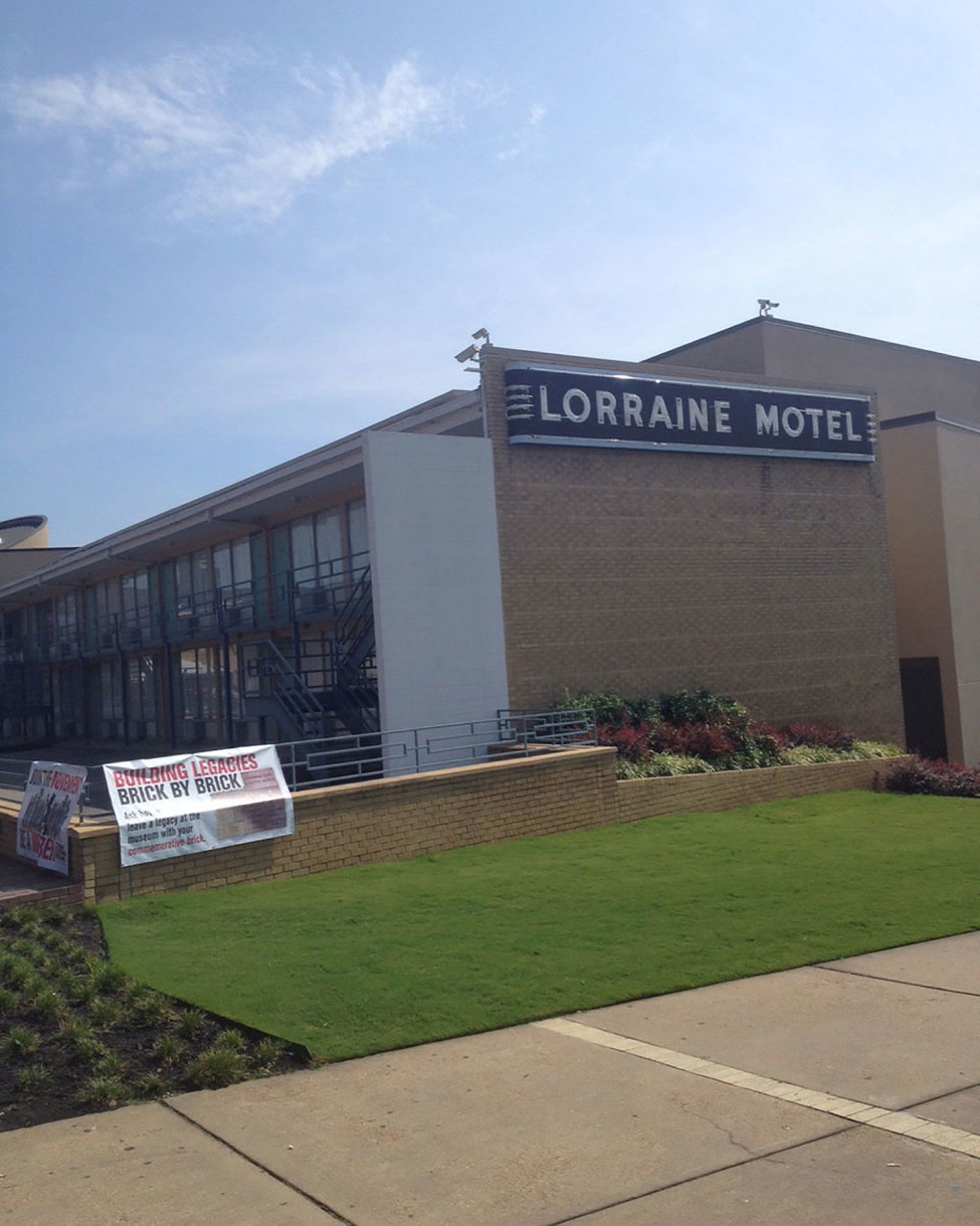 Lorraine Motel   photo by Grady McGill