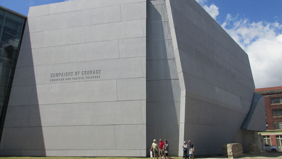 National WWII Museum, New Orleans, Louisiana.   photo by Robert Karma/Flickr/CC BY NC ND 2.0