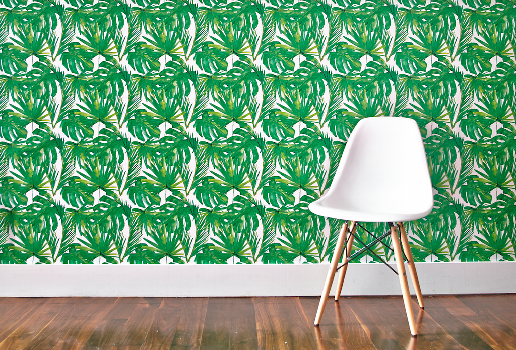 These easy peel-and-stick wallpapers are perfect for any rental, especially if your landlord won't allow new paint!