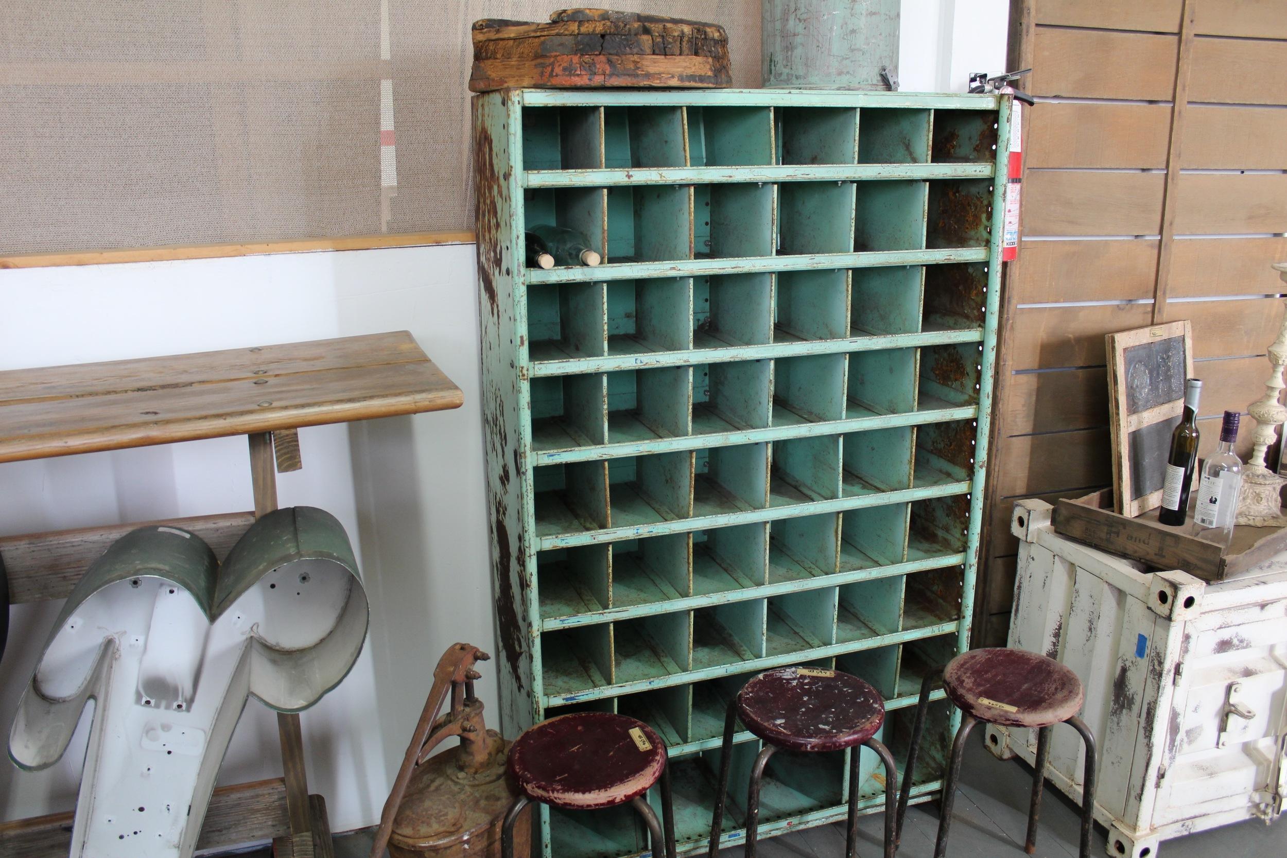 Vintage File Cabinet | Silverado Salvage | www.foundandkept.com