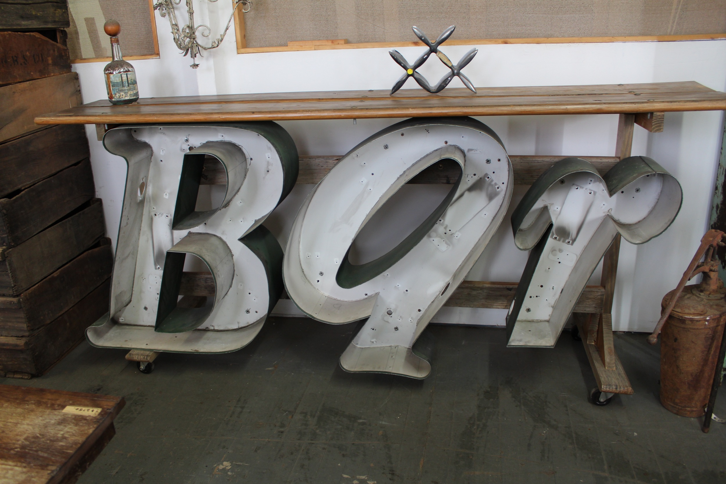 Bar Sign | Wedding Decor | Silverado Salvage | www.foundandkept.com