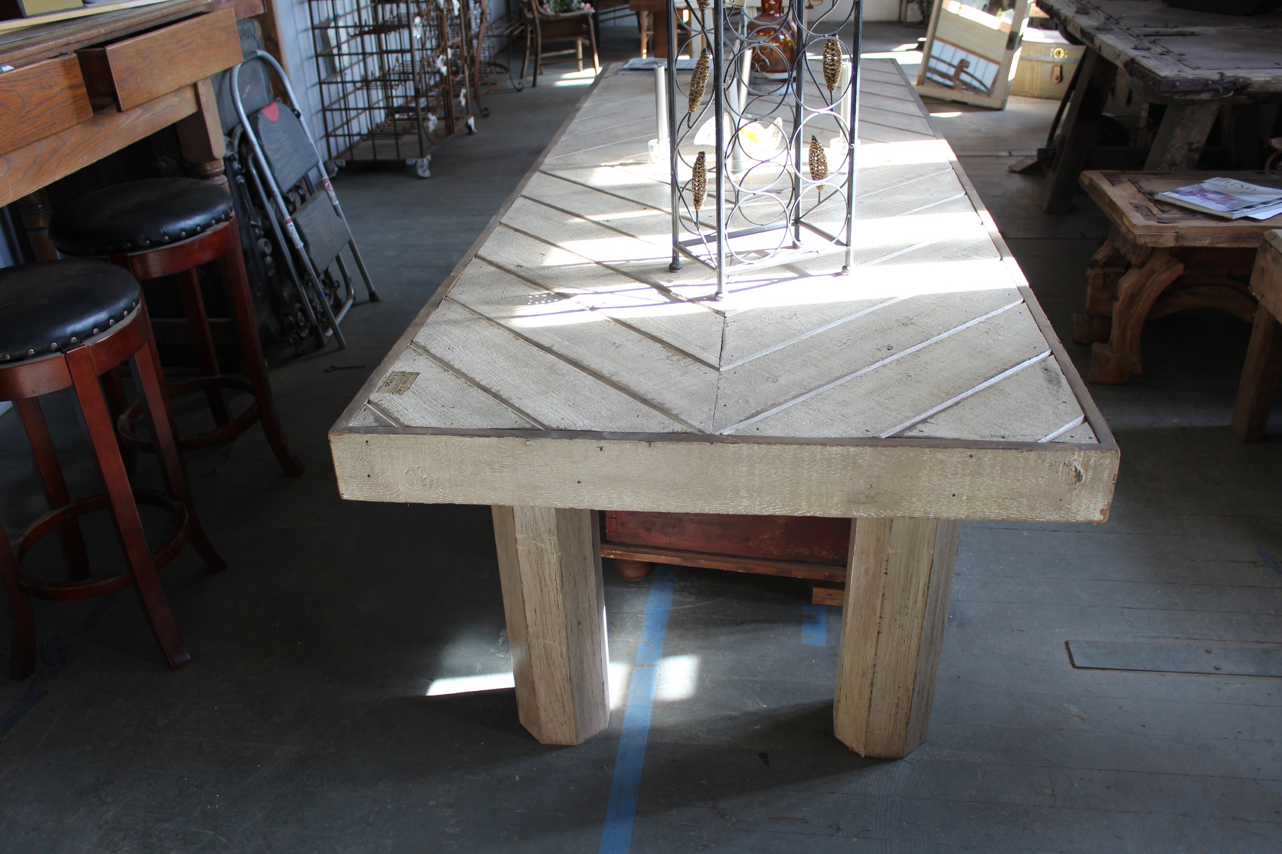 Dining Table | Silverado Salvage | www.foundandkept.com