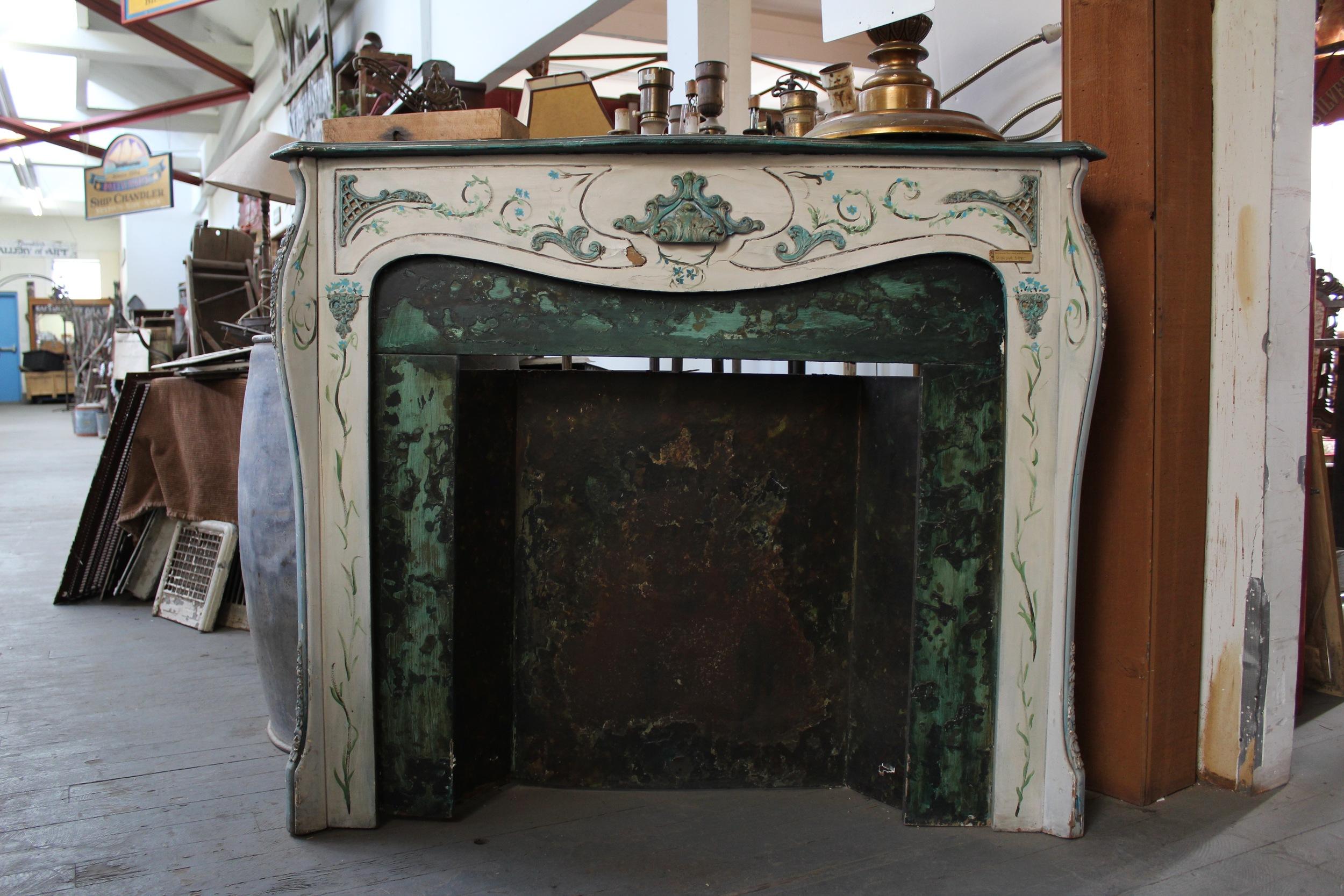 Vintage Fireplace | Silverado Salvage | www.foundandkept.com