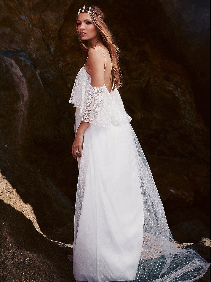 Bohemian Wedding | Free People | Wedding Dress | www.foundandkept.com