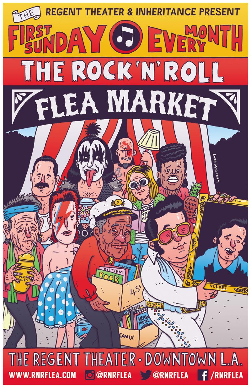 Great Rock and Roll Flea Market | Los Angeles | www.foundandkept.com