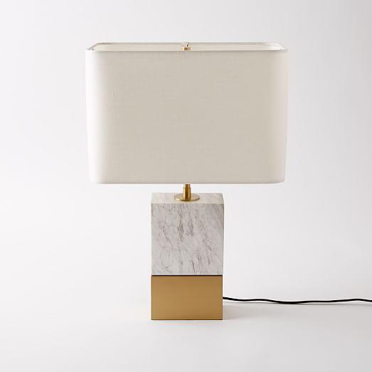 Mia Table Lamp West Elm | www.foundandkept.com