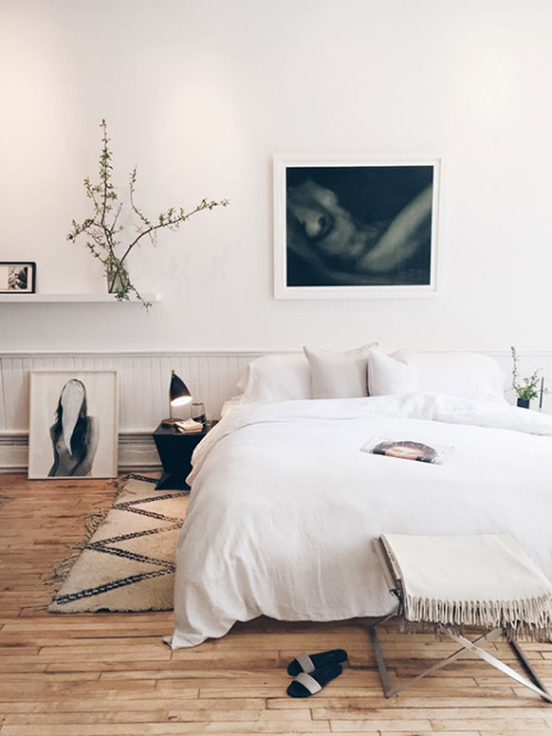This is my #1 rule for any relaxing bedroom. I can't promise decluttering will save your life, but it could. Pair down to your essentials + remember these great  storage saving tips . Declutter your space, declutter your mind.