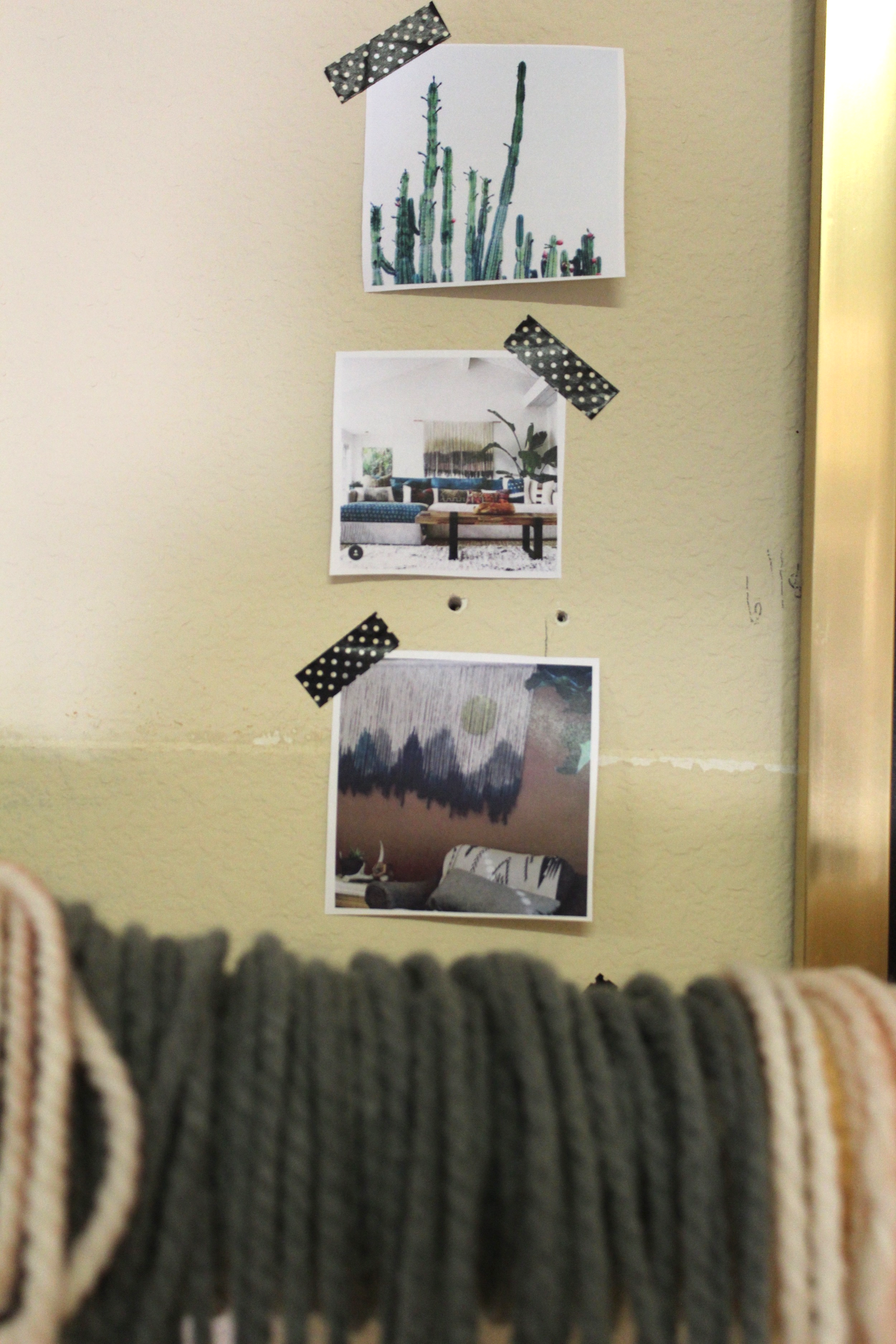 Boho by Lauren | Fiber Art Wall Hanging | Maker of the Month | www.foundandkept.com