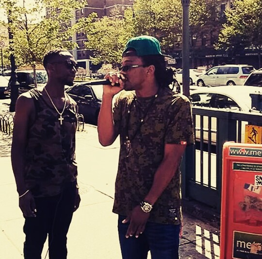 Afrikan Kartel on the block in Harlem 125th St. & Malcolm X Blvd!!!!!!! #Nice Vibez