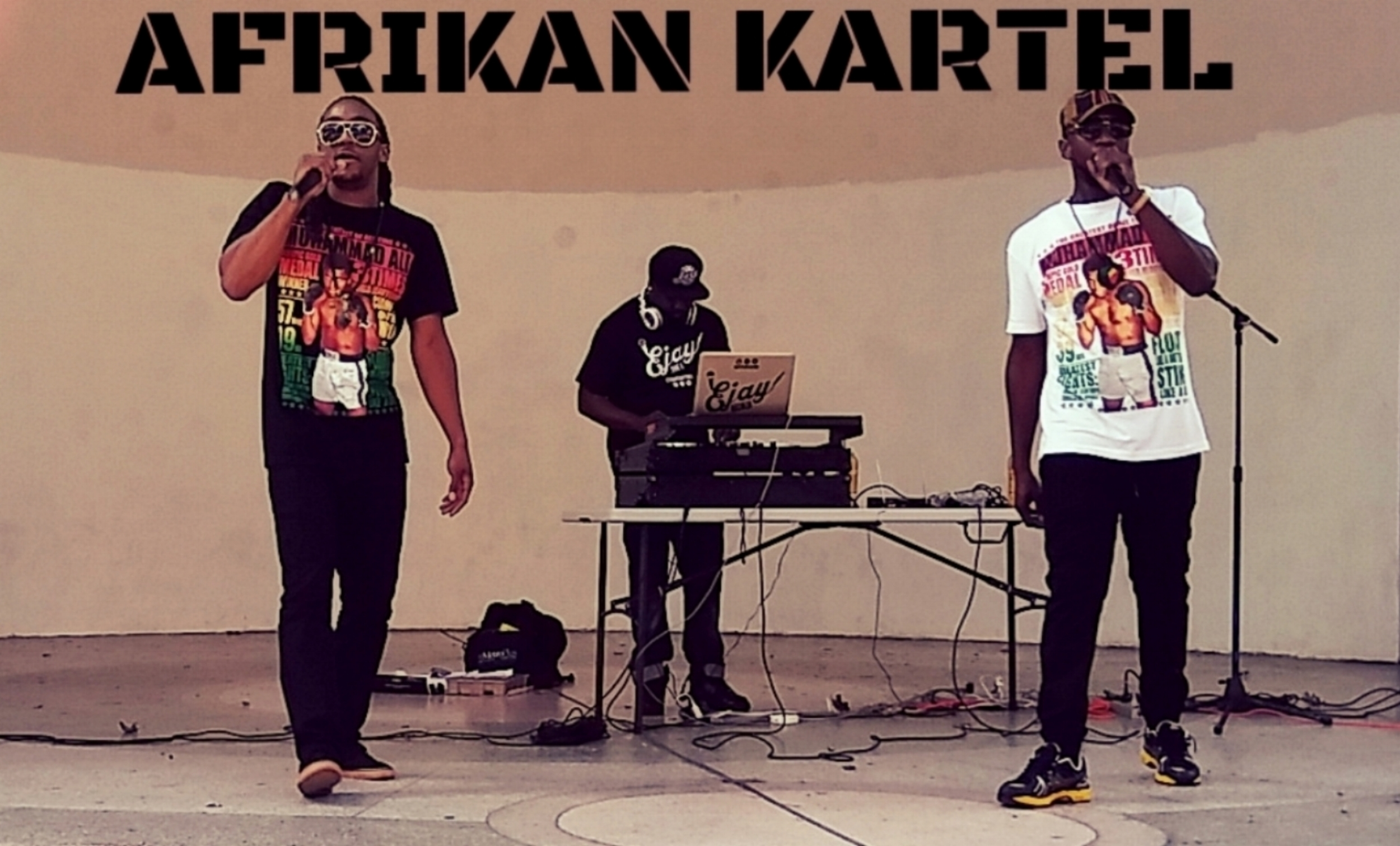 AFRIKAN KARTEL SPREADING POSITIVE VIBRATIONS THROUGH WORD, SOUND, & POWER @ THE 2ND ANNUAL PEACE & UNITY CONCERT IN NYC'S JACKIE ROBINSON PARK!!!