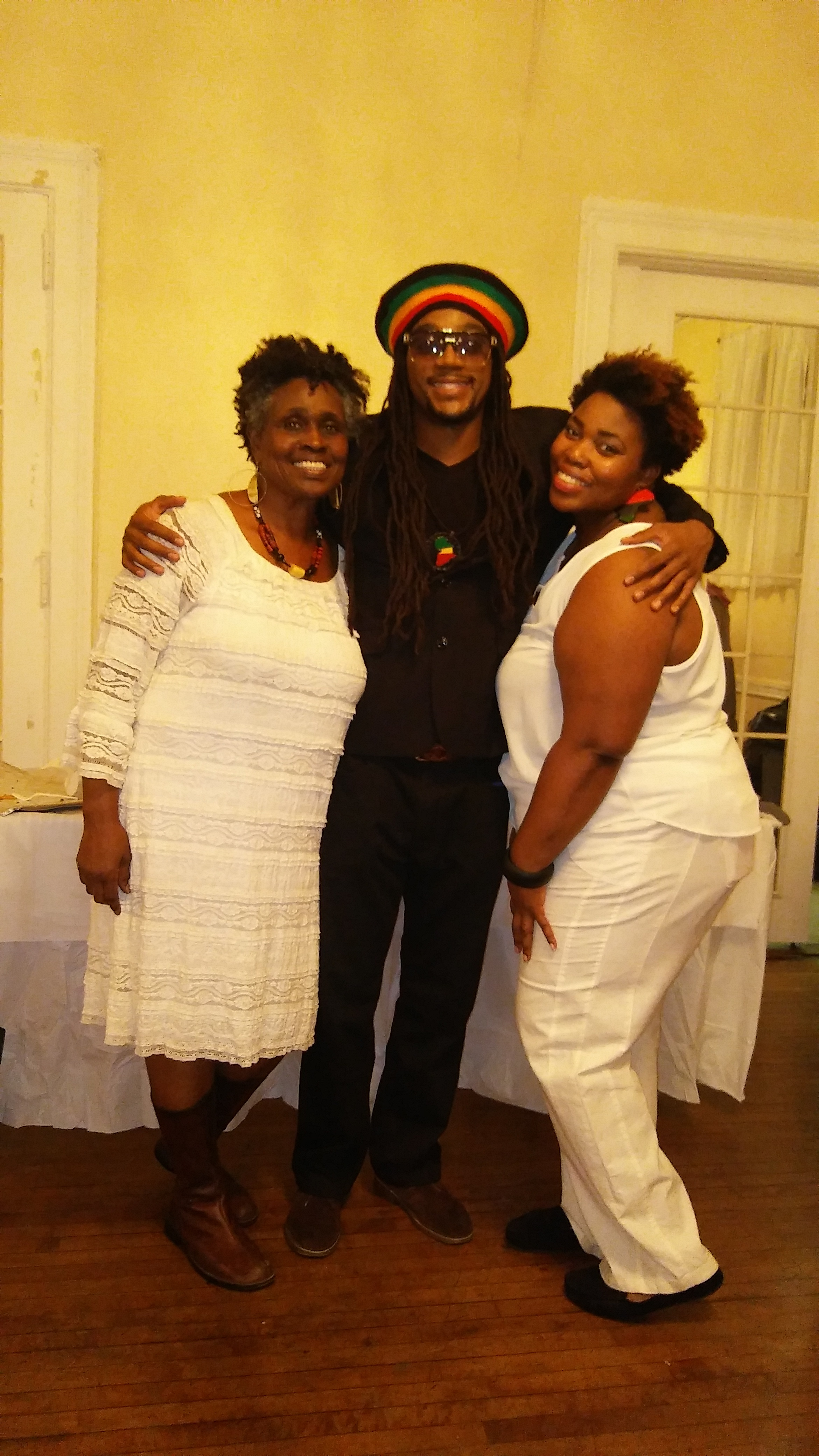 Image-I/ Afrikan Kartel @ The Sister's Uptown Bookstore & Cultural Center 16th Year Anniversary All White Affair Ball!!!!!!