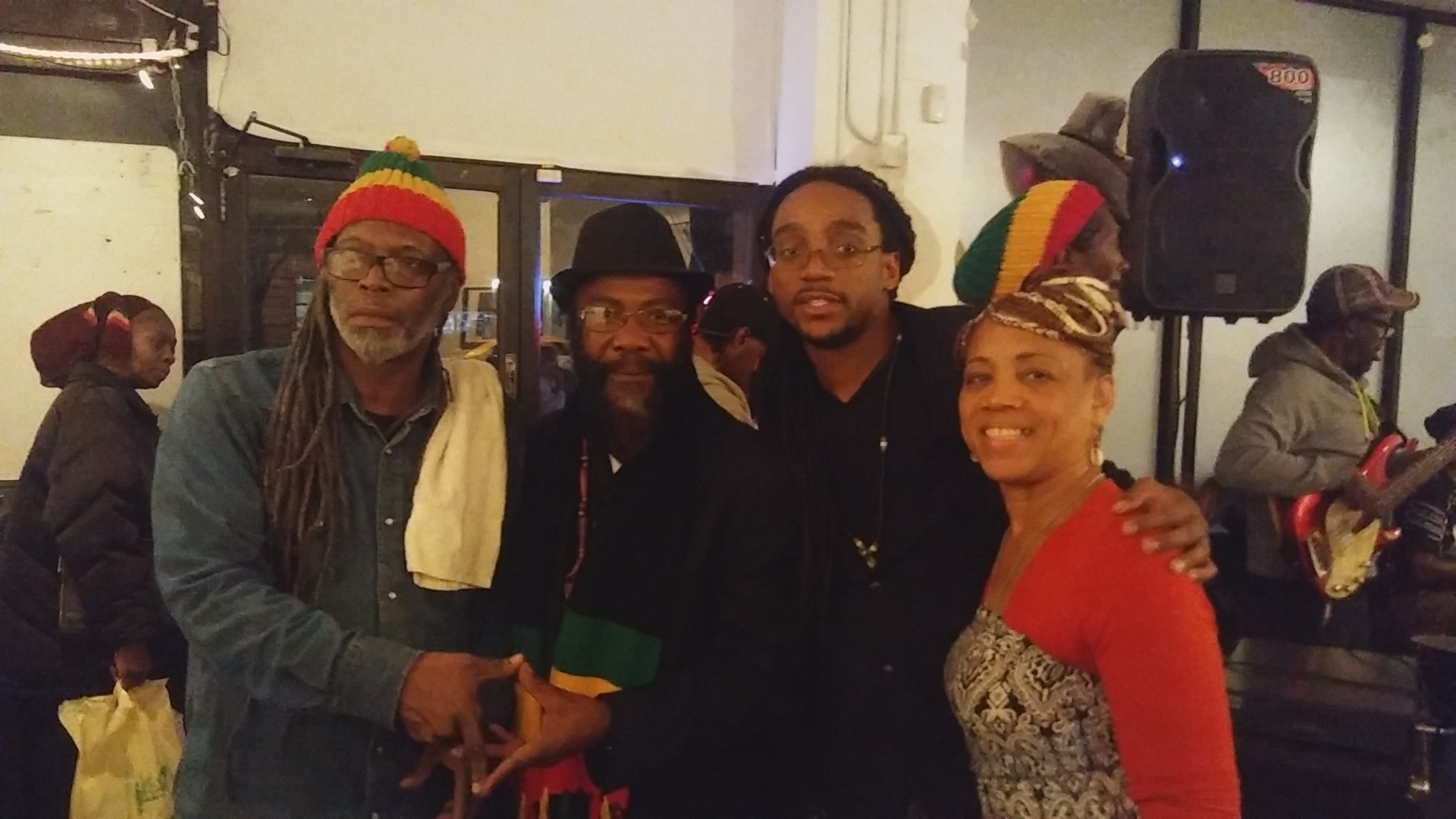 Image-I/ Afrikan Kartel Longside Reggeae Legend Ras Denroy Morgan & Friends @ Nov. 2nd Coronation Celebration for His & Her Imperial Majesty!!!!