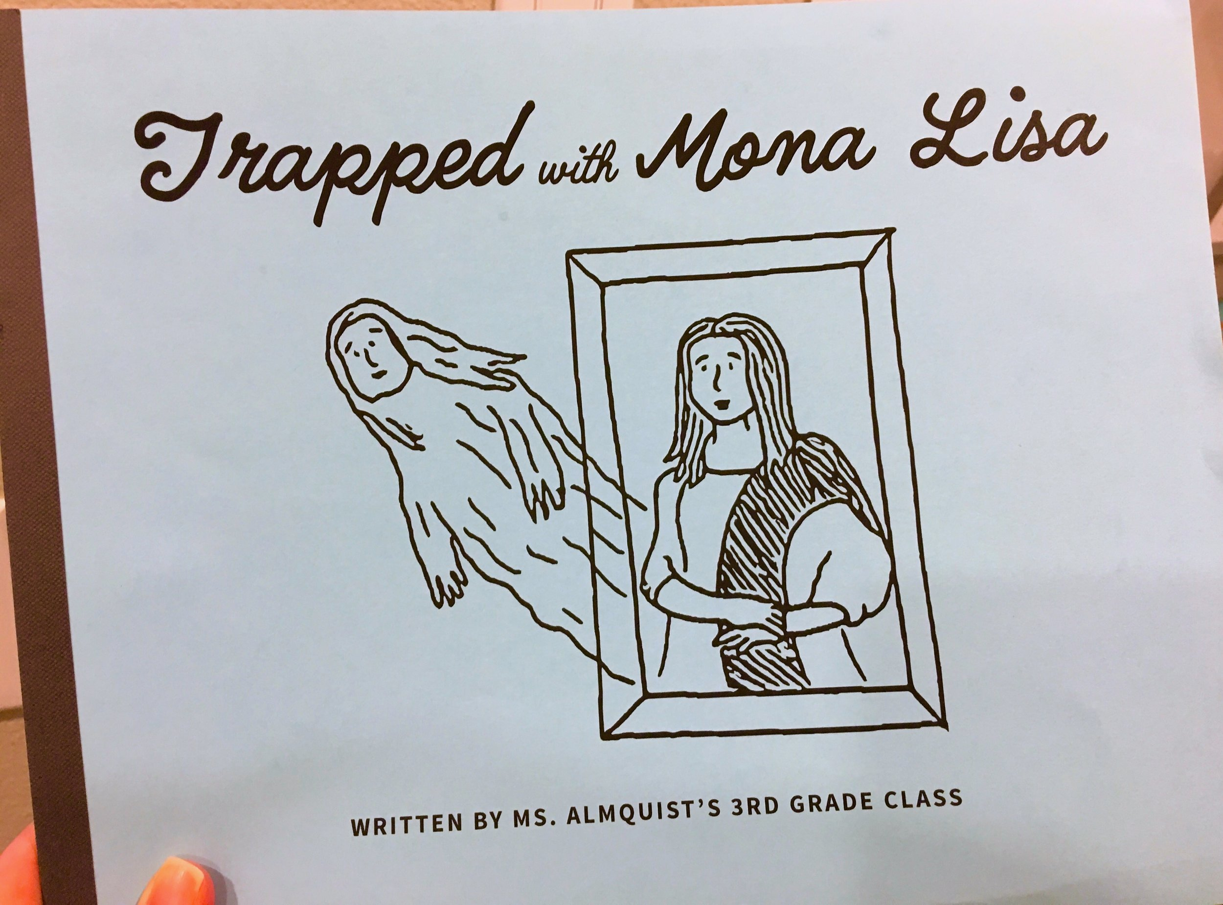 Trapped with Mona Lisa