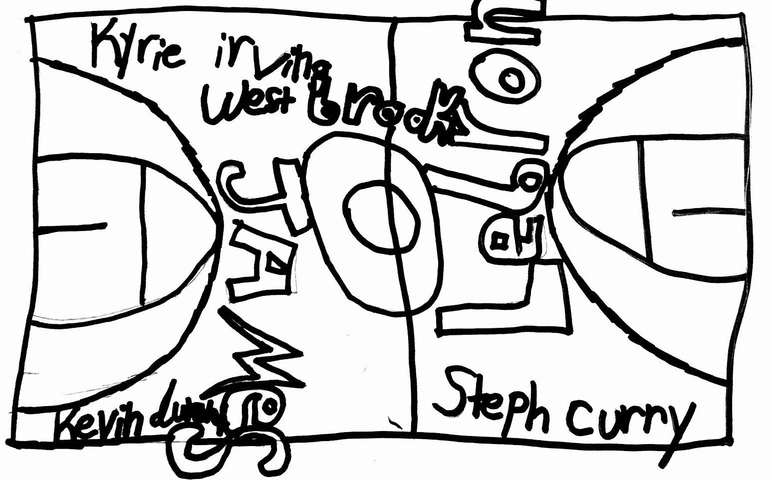Proposed Basketball Court Design by Jorge.