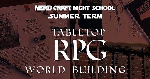 August 13-29 at Spark Central: Tabletop RPG World Building with @spokane_print!  This 3-week journey into the depths of nerdiness will explore the many ways to bring your tabletop role playing world to life. You'll explore the mechanics of character creation and practice world building exercises and techniques. Learn about branching and improvisational narratives, map and monster creation, and much more! You'll walk away with a prototype player's handbook, a rough guide to your RPG world, and everything you'll need to know to build an effective, immersive, and fun role playing game! All materials will be provided.  Tuesdays and Thursdays, 8/13-8/29. Register via Spokane Print and Publishing Center: spokaneprint.eventbrite.com  #rpg #roleplaying #gamedesign #spokanerpg #spokaneevents #sparkcentral