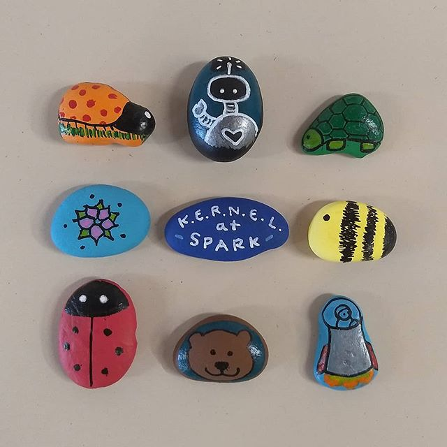 For our last KERNEL activity of the season, we'll be learning about community gardens and painting rocks that can be used to decorate gardens or flower pots! Kids who participate can earn a $2 voucher for fruits and vegetables from the Kendall Yards Night Market.  Wednesday, August 28. Stop by between 5pm and 7pm. Free!  #CommunityGardens #LocalFood #Gardening #RockPainting #Spokane #SpokaneKids #KERNELatSpark #SparkCentral