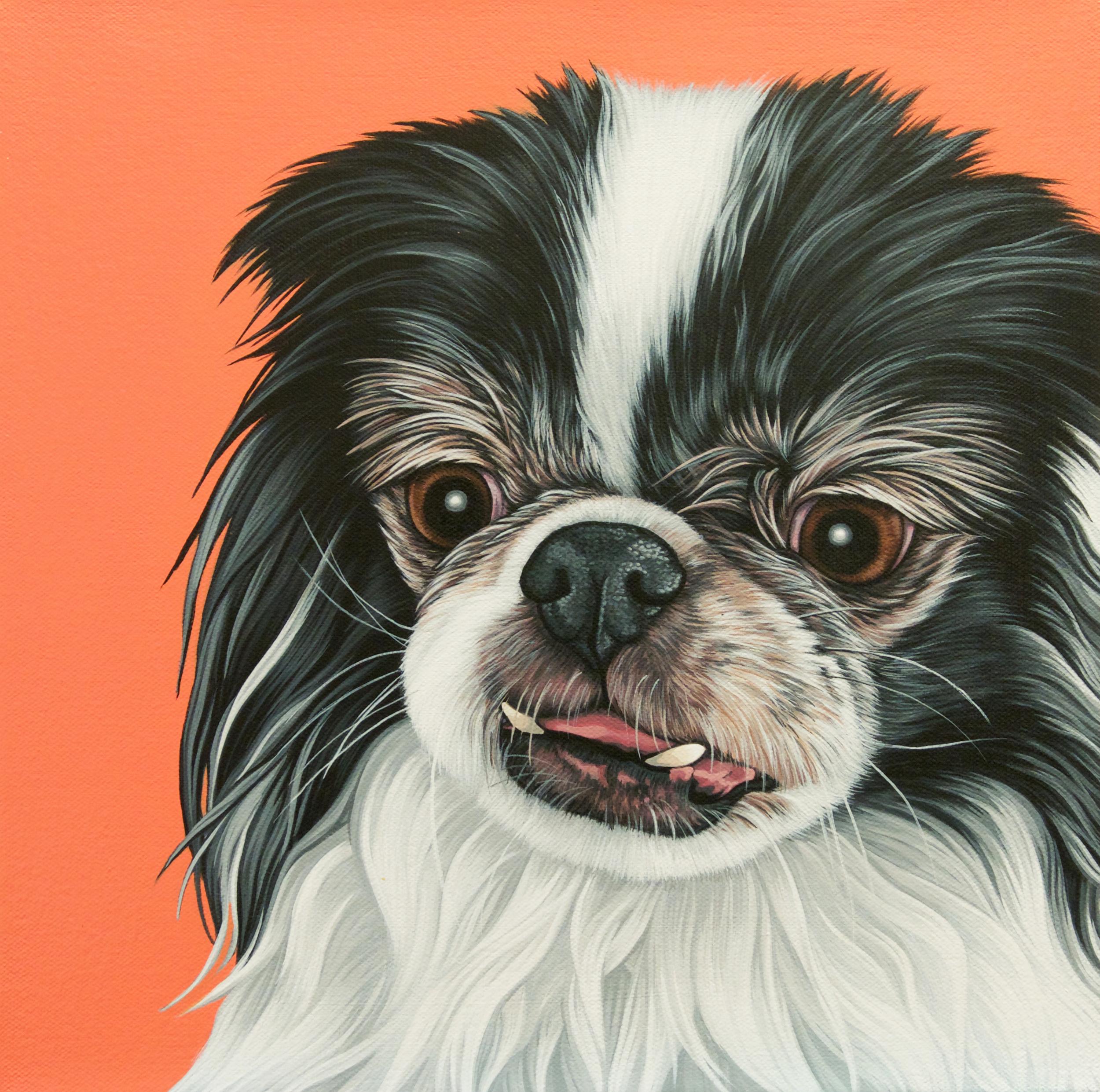 """Melody"", latex enamel on canvas, 12""x 12"", 2016"