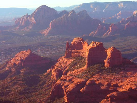 Lookout Off Of Schnebly Hill Road Sedona AZ