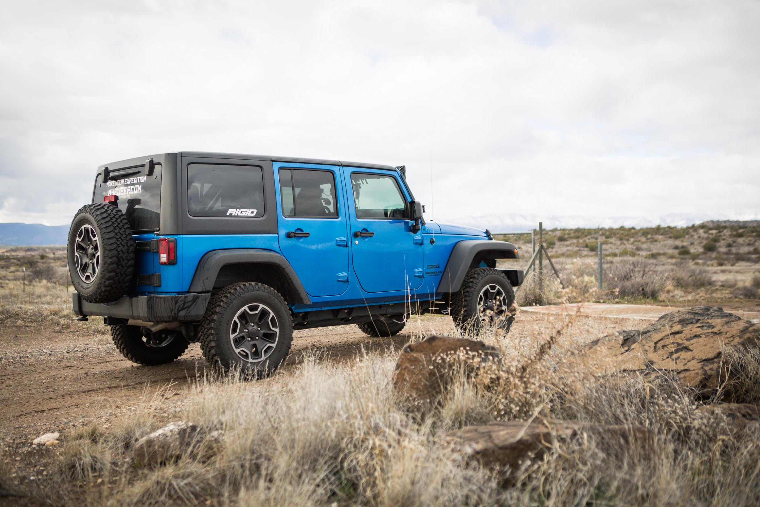House Mountain Jeep 4x4 Trail Sedona