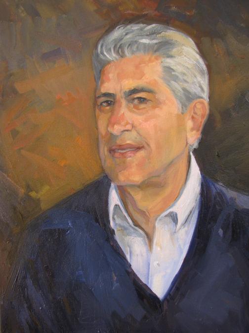 De la Pierre  Oil on Canvas