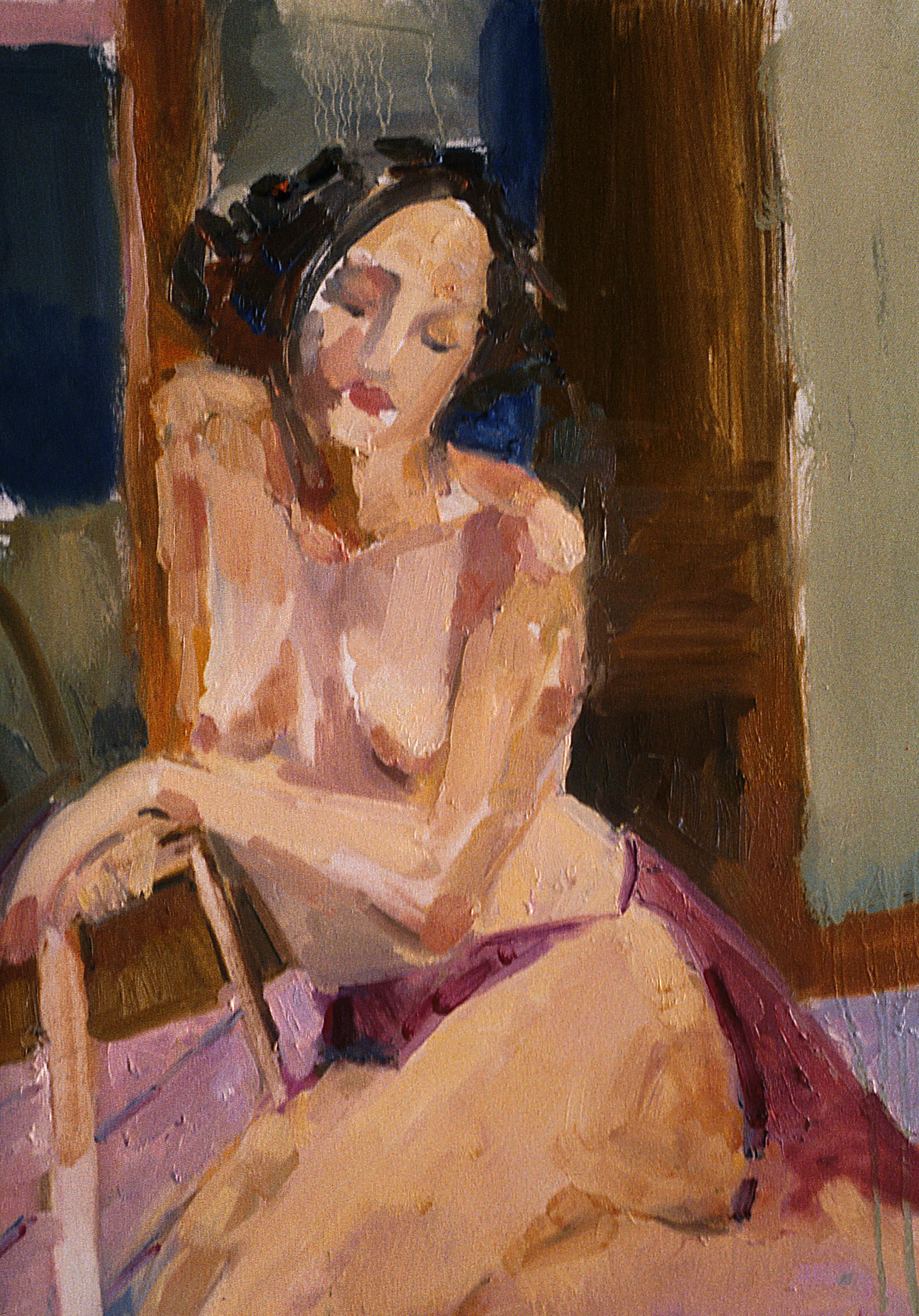 Danielle  Oil on Canvas 1995