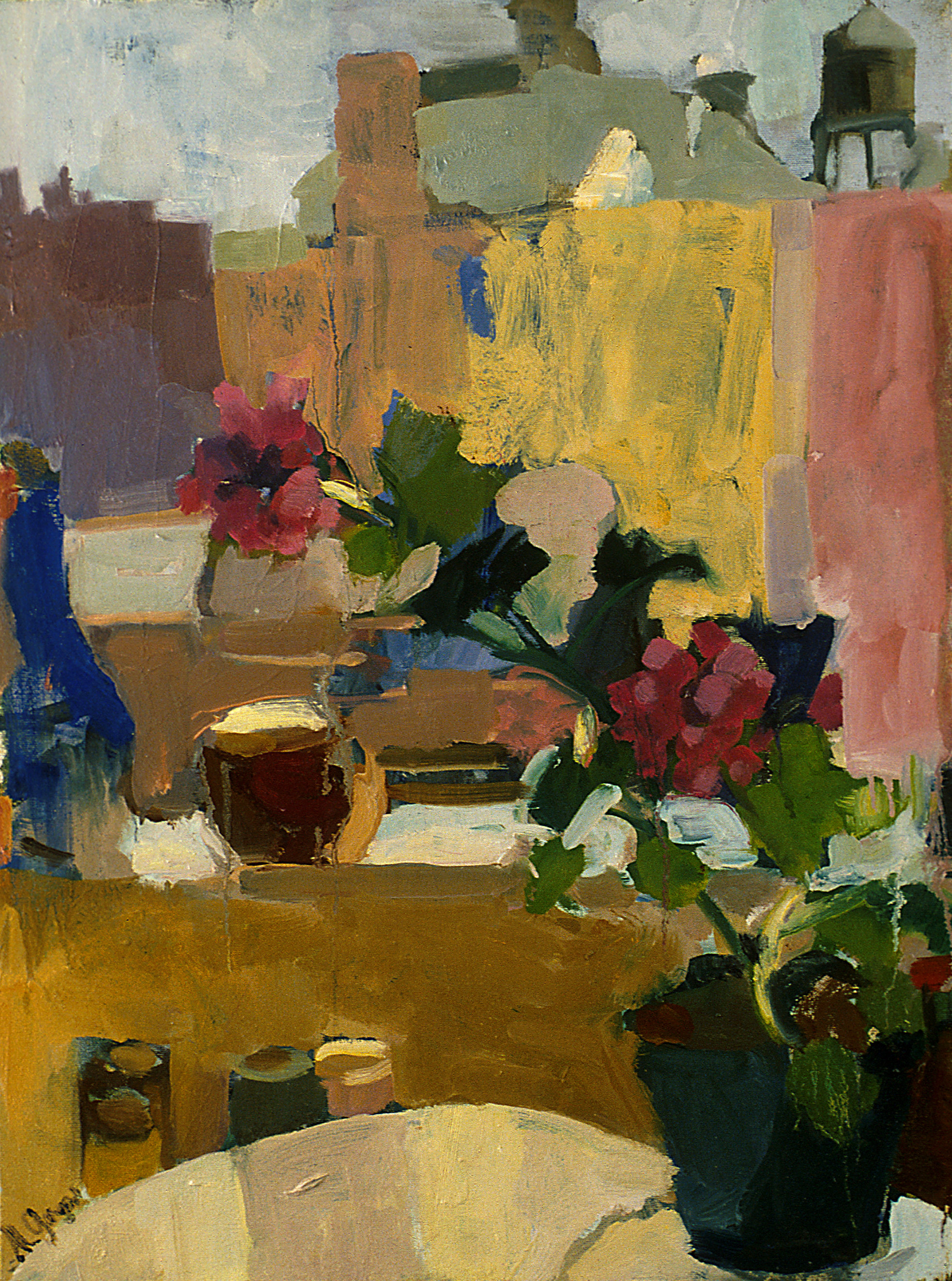 New York Apartment  20 x 36 inches Oil on Canvas 1994
