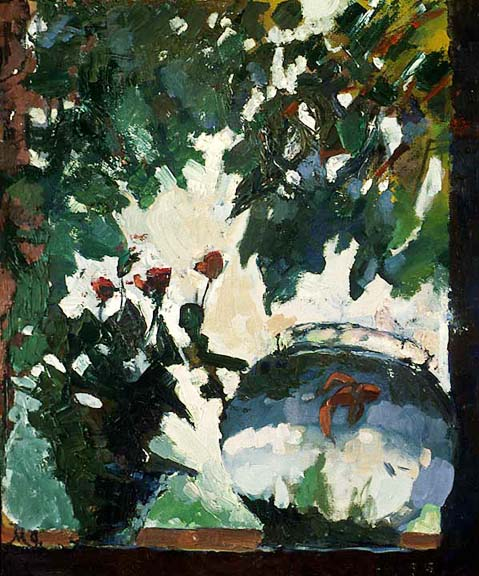 Fishbowl  Oil on Canvas 1995