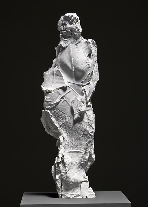 Braque Figure, Plaster