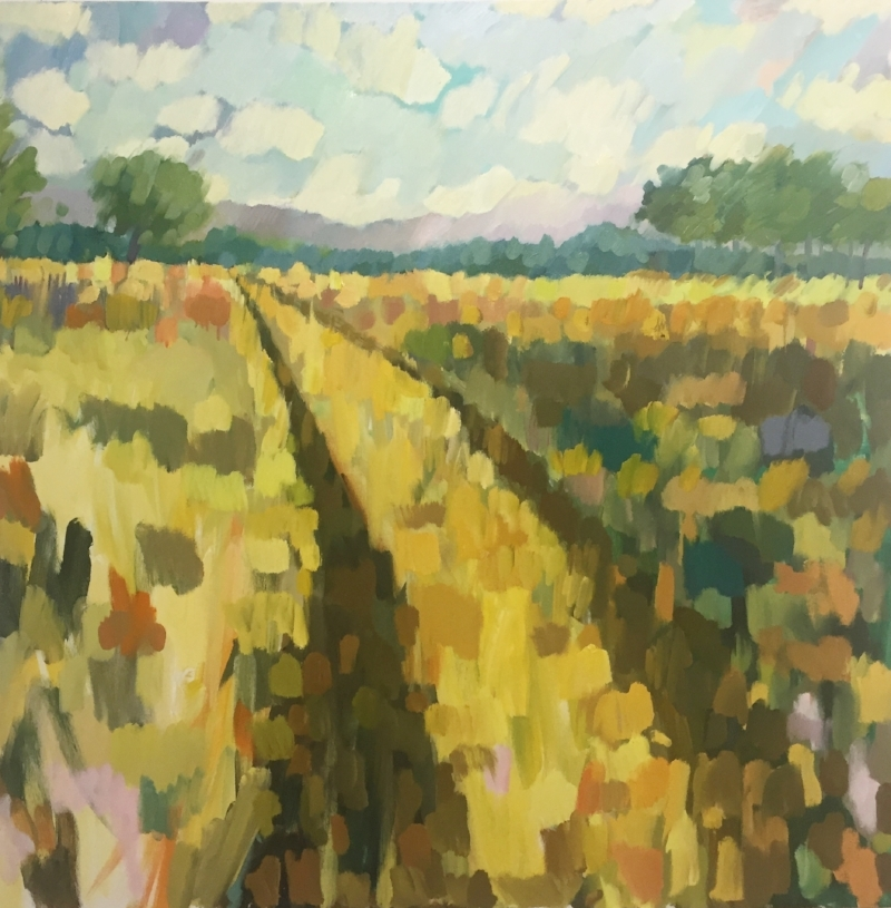 Meandering Path 48 x48in. $3400
