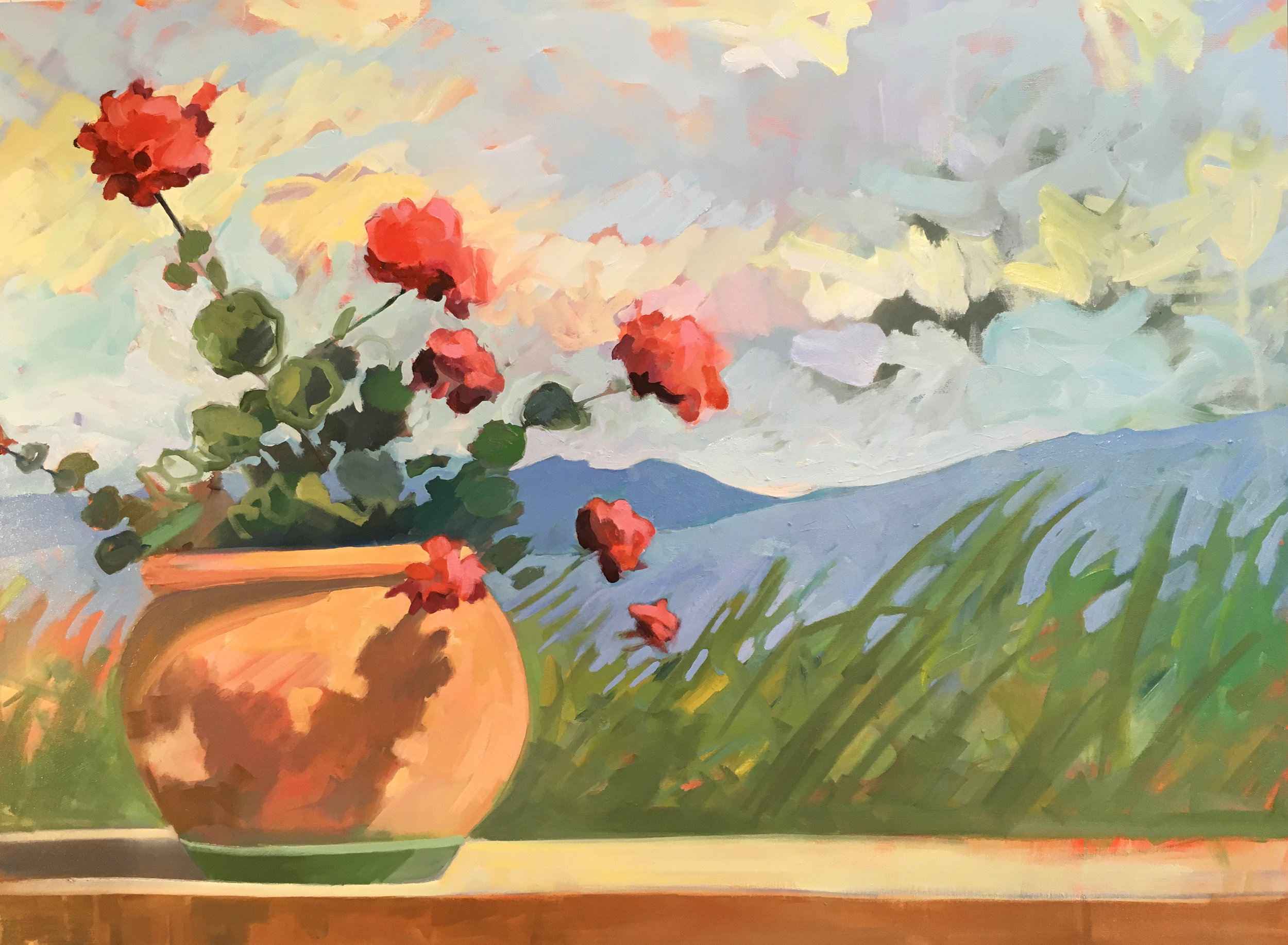 French Geraniums