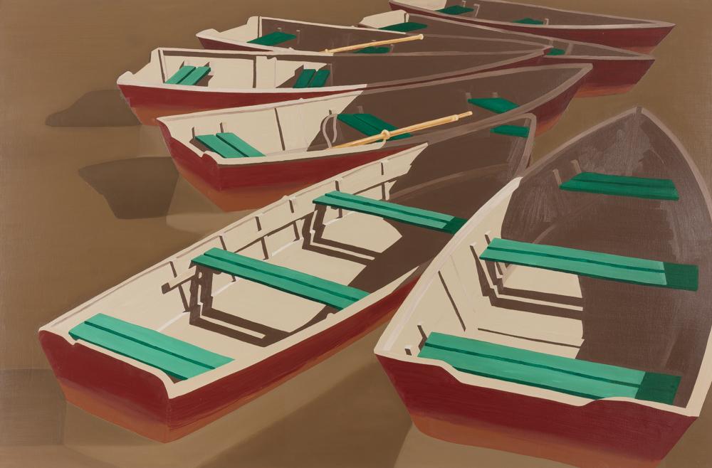 "Potomac 1, oil/canvas, 48""x60"""