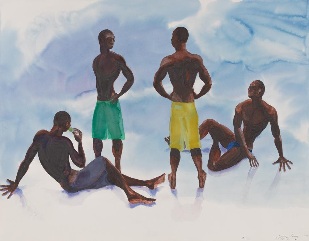 Bahia 2, watercolor