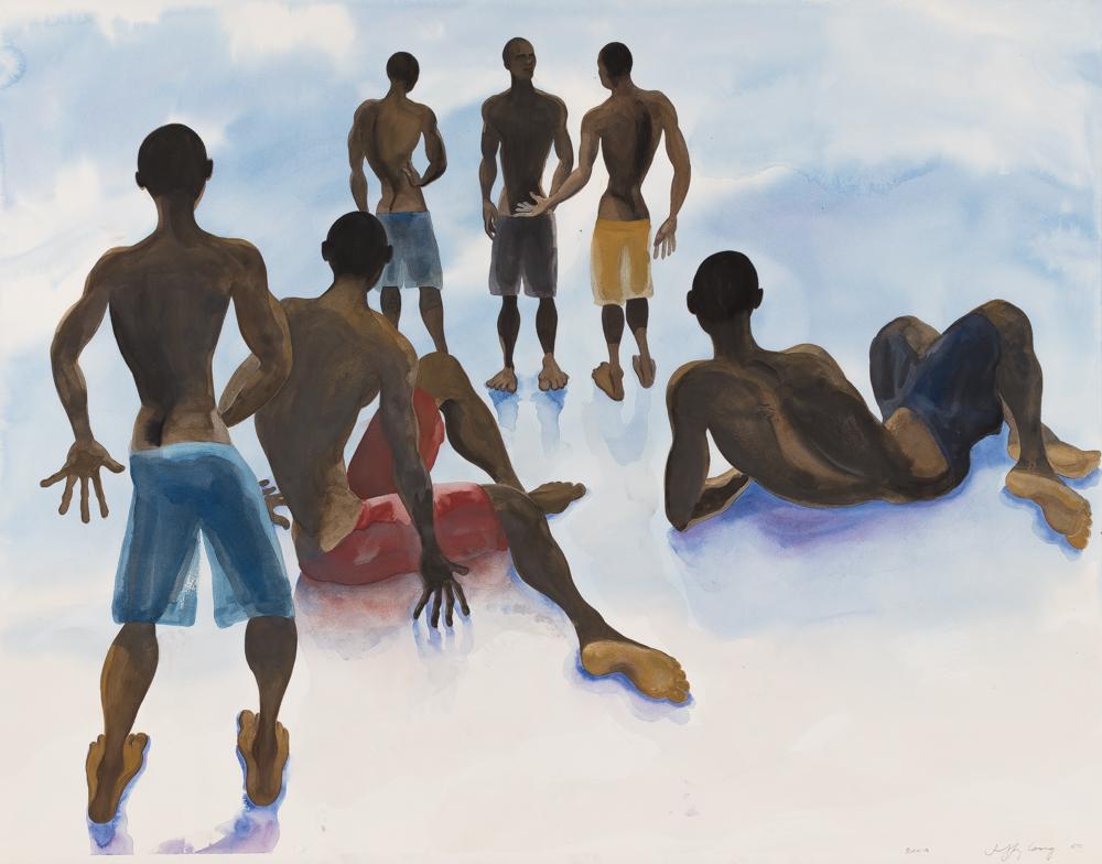 Bahia 4, watercolor