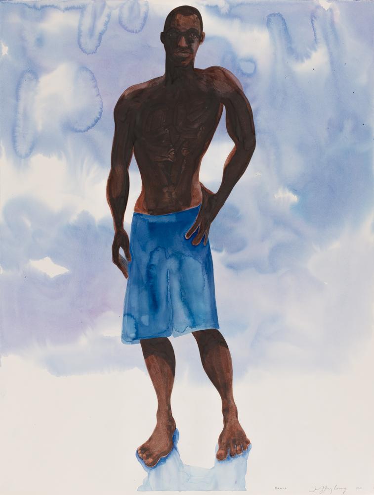 Bahia 6, watercolor