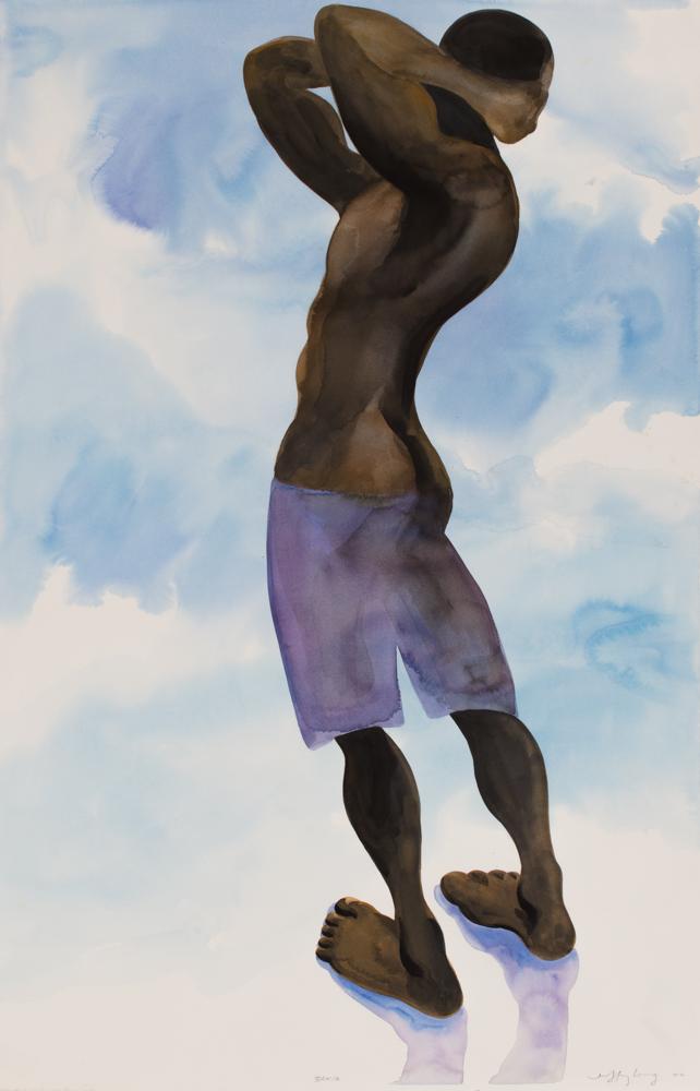 Bahia 8, watercolor