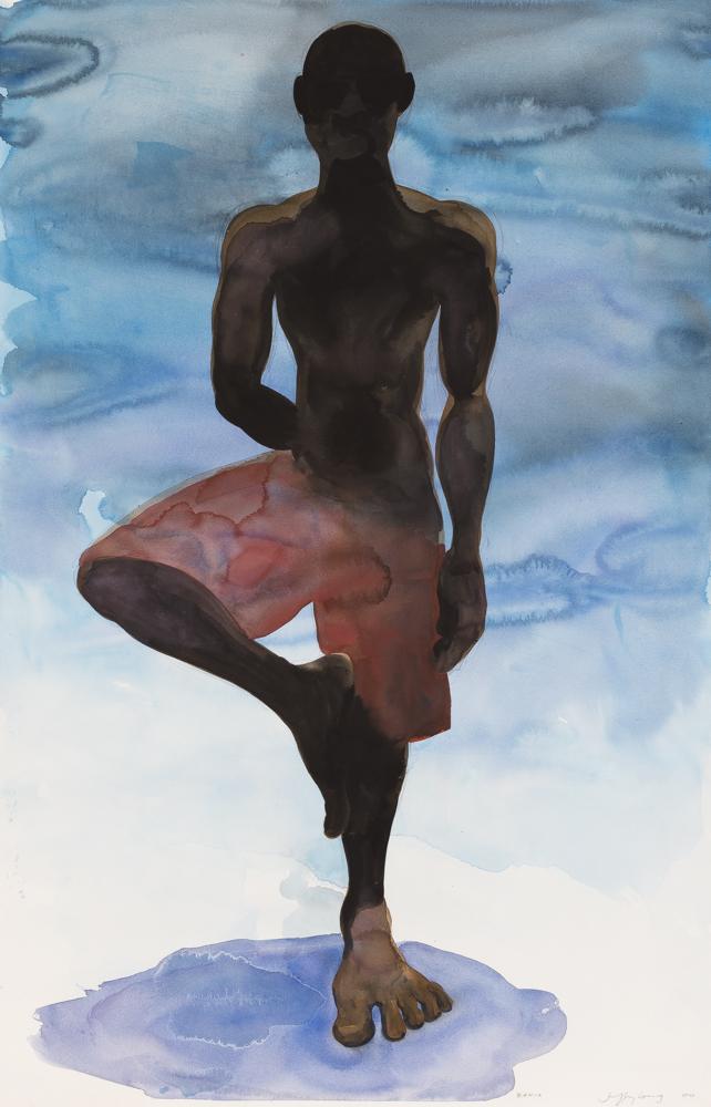 Bahia 10, watercolor