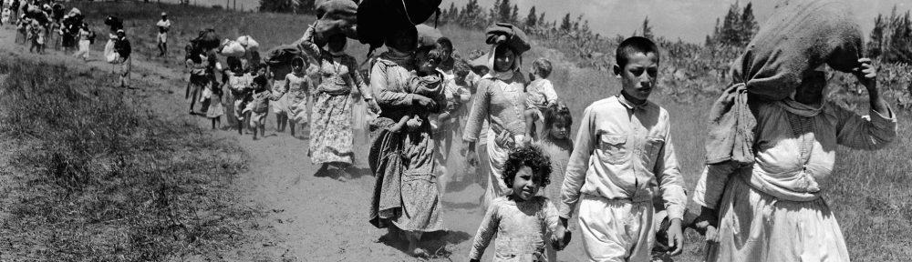 Den palestinske katastrofen, 1948
