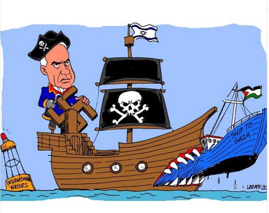 Illustrasjon av Carlos Latuff