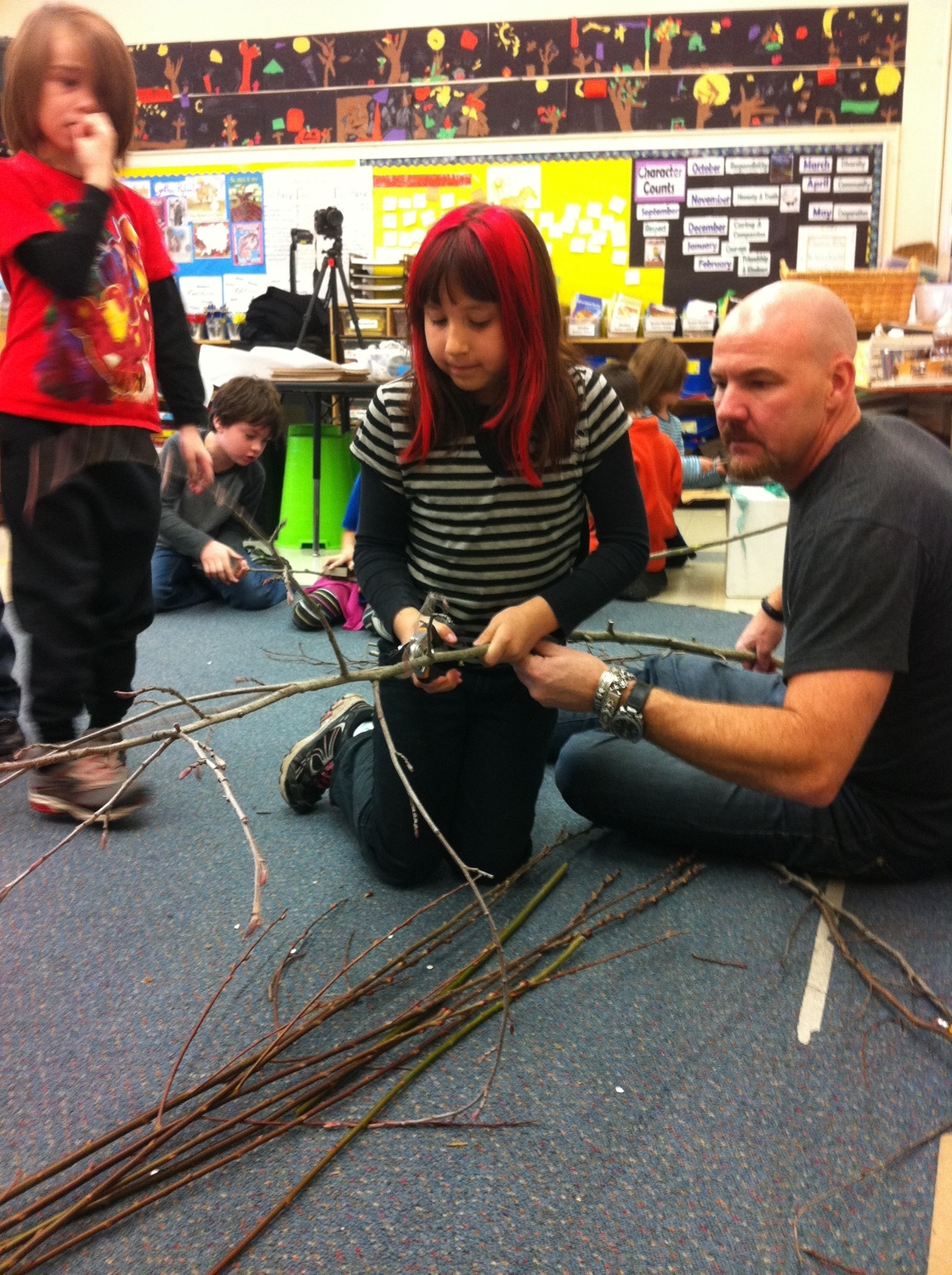 using what we have, Buckman School, Portland, OR, USA
