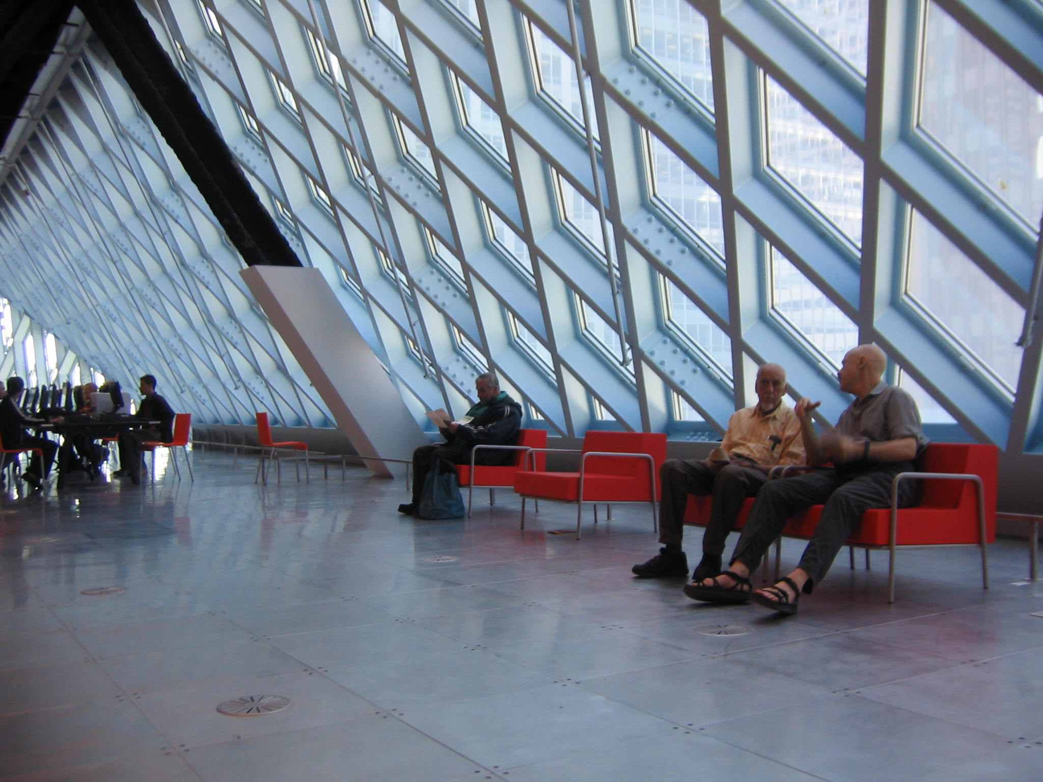 Seattle Public Library, Seattle, Washington, USA (with OMA, Vitra and QM)