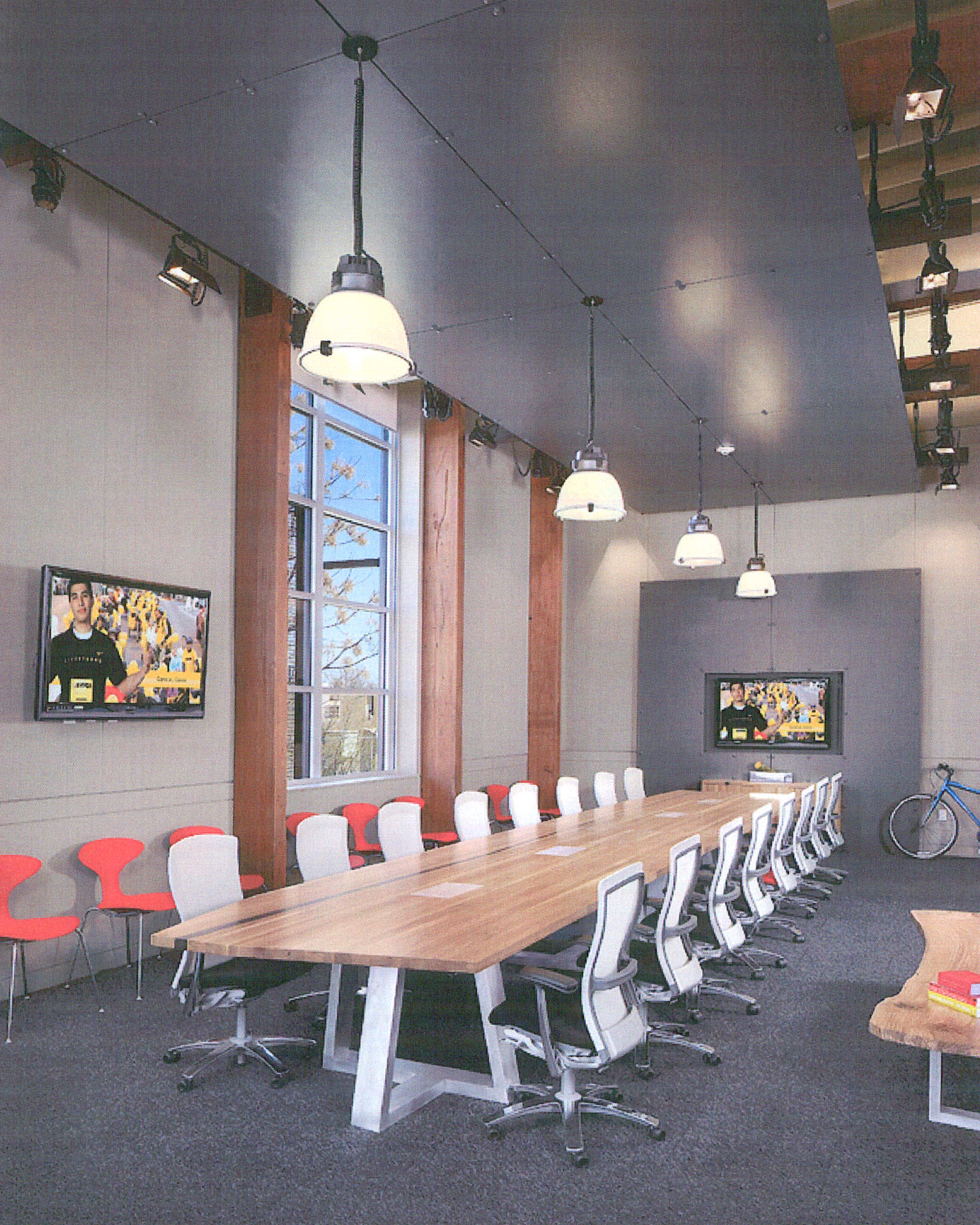 Lance Armstrong Foundation HQ Boardroom, Austin, Texas, USA